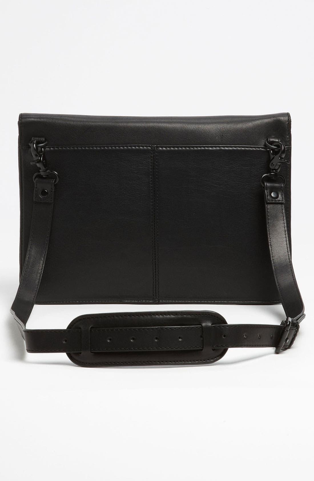 Ben Minkoff 'Mark' Laptop Bag,                             Alternate thumbnail 4, color,                             001