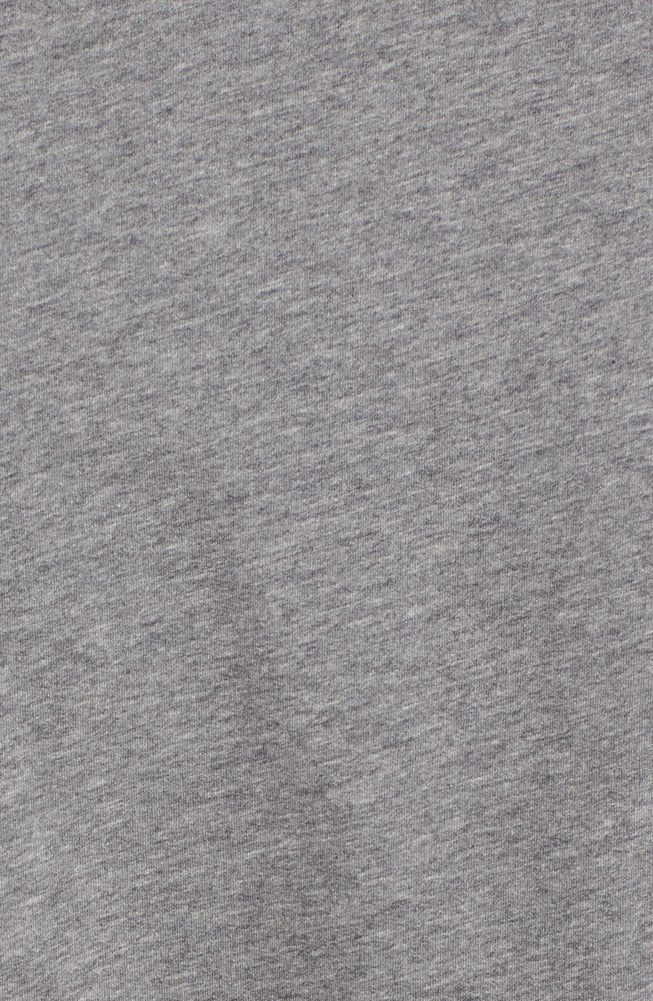 Regular Fit Half Zip Baseball Pullover,                             Alternate thumbnail 10, color,
