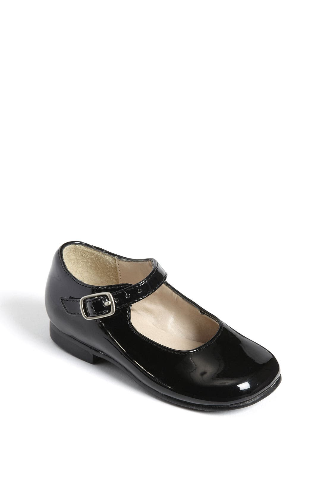 'Bonnett' Mary Jane,                             Main thumbnail 1, color,                             BLACK PATENT