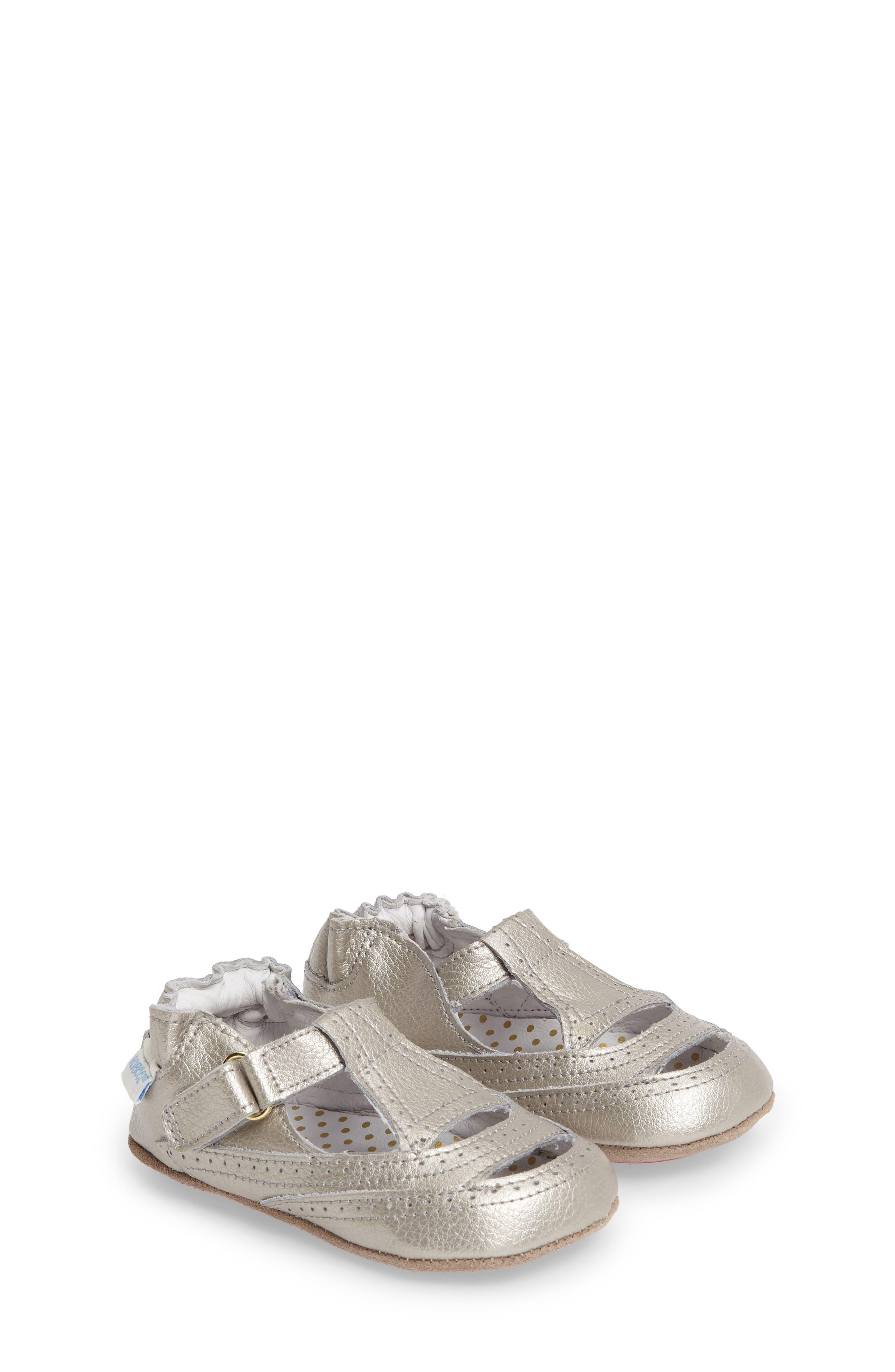 Ruby Crib Shoe,                         Main,                         color, 020