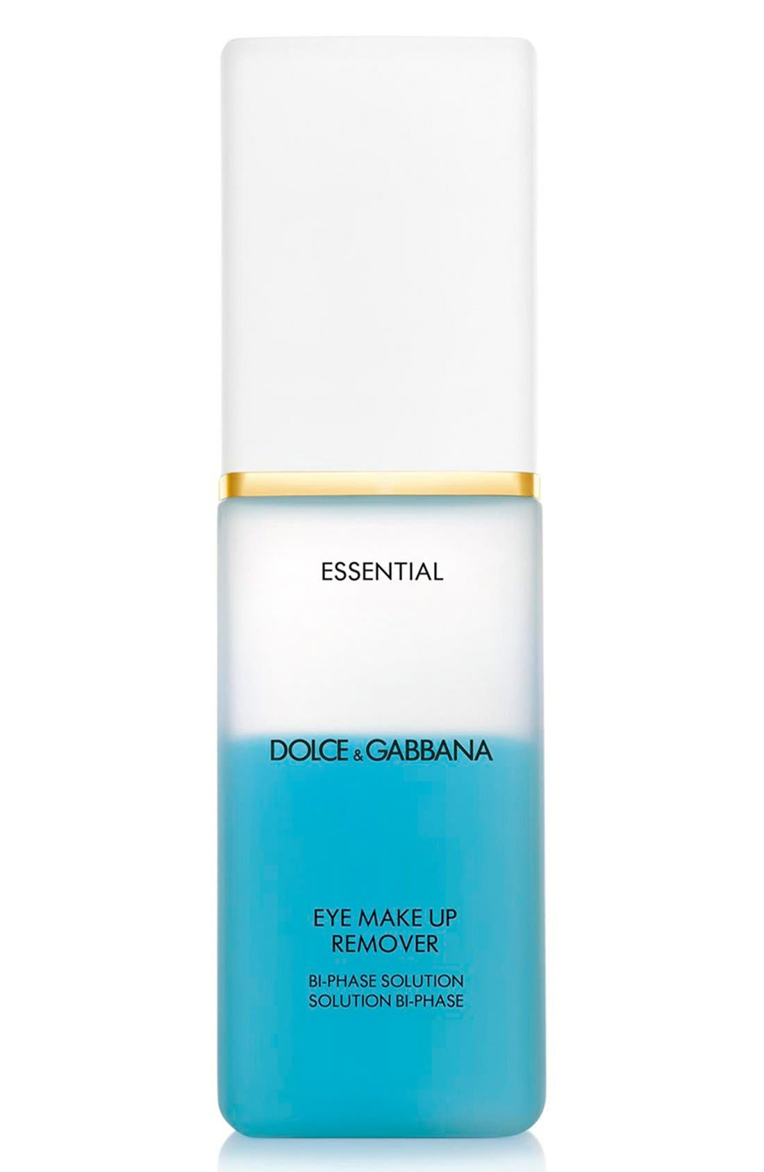 Dolce&Gabbana Beauty 'Essential' Eye Makeup Remover,                             Main thumbnail 1, color,                             000