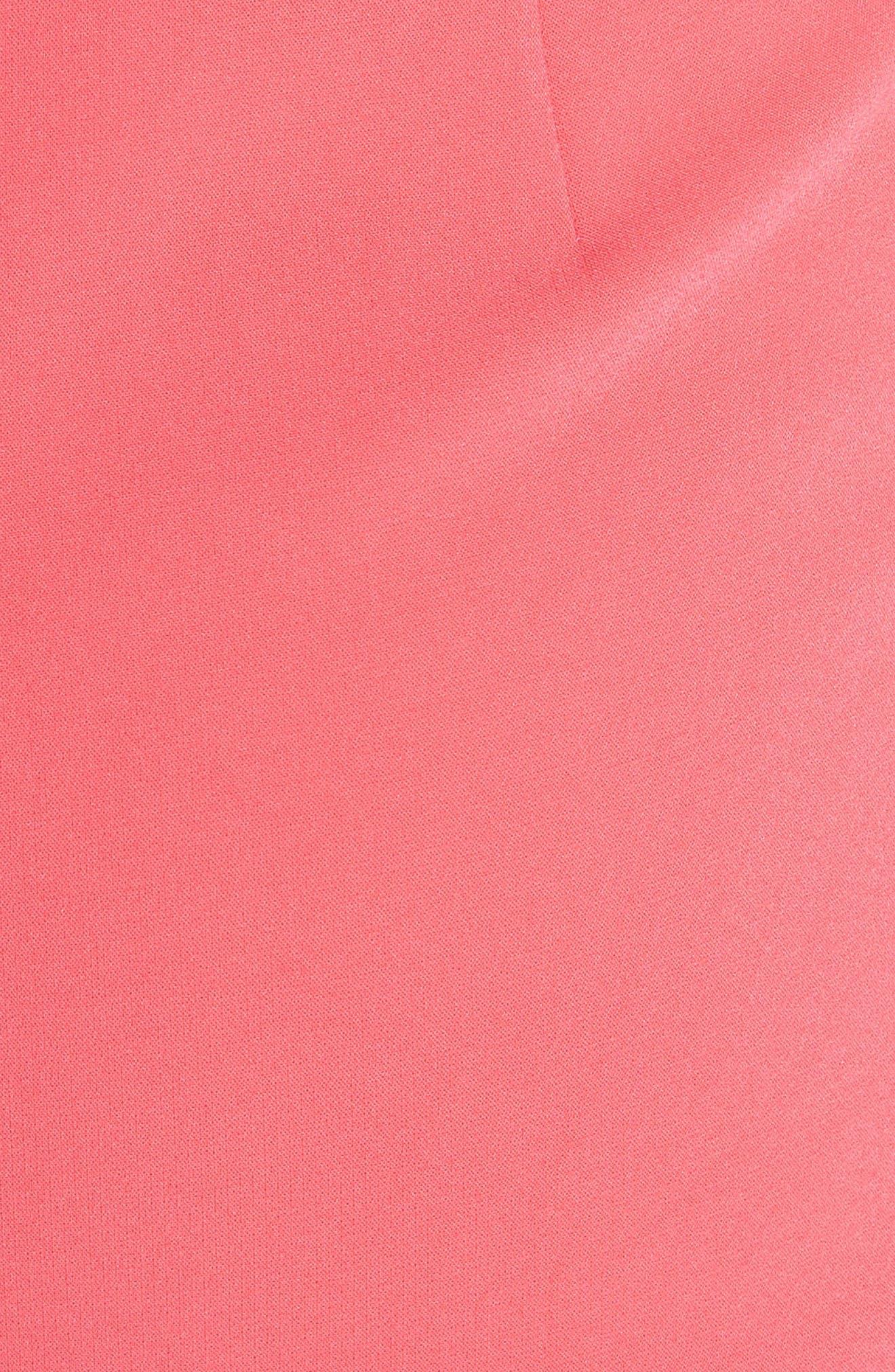 Andalasia Sleeveless Fit & Flare Dress,                             Alternate thumbnail 5, color,
