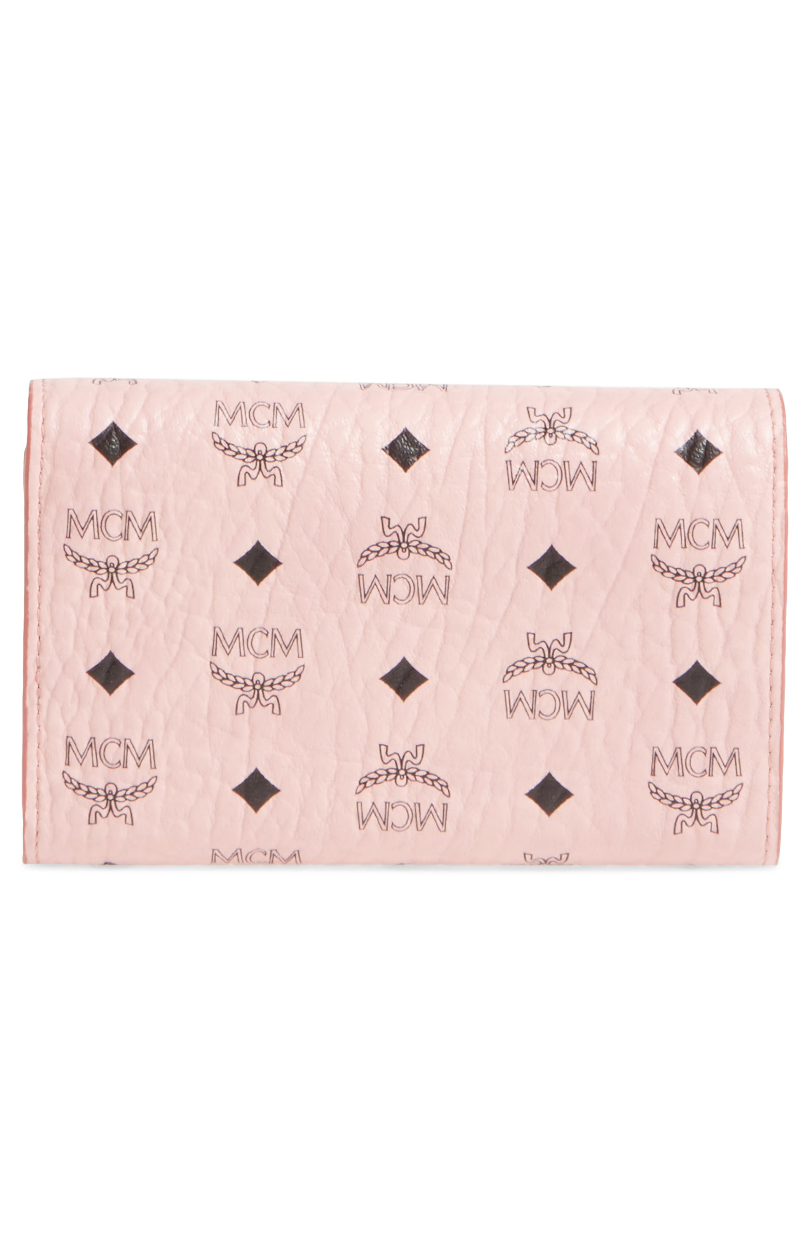 Small French Trifold Wallet,                             Alternate thumbnail 6, color,