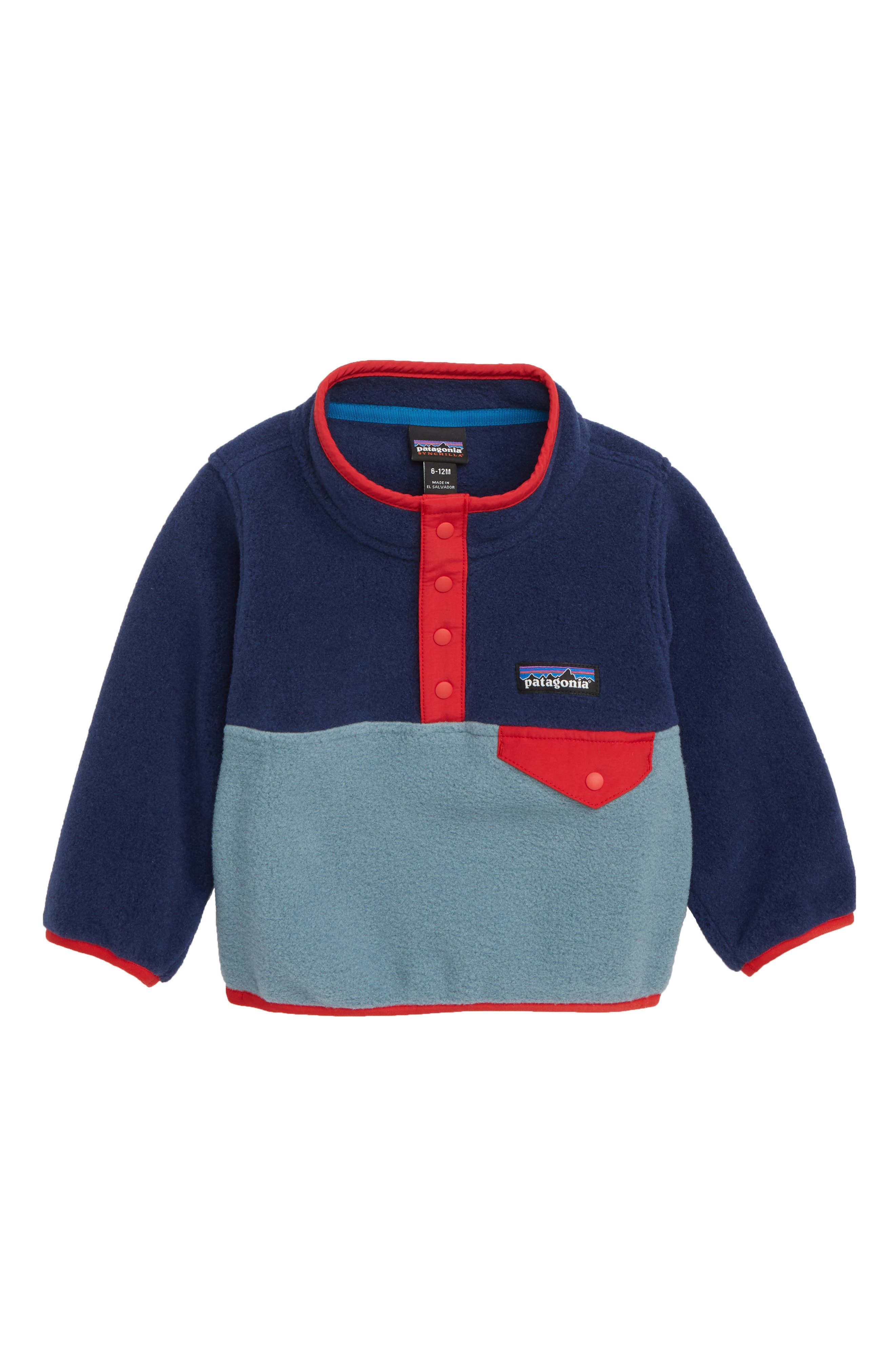 Synchilla<sup>®</sup> Snap-T<sup>®</sup> Fleece Pullover,                             Main thumbnail 1, color,                             SDAB