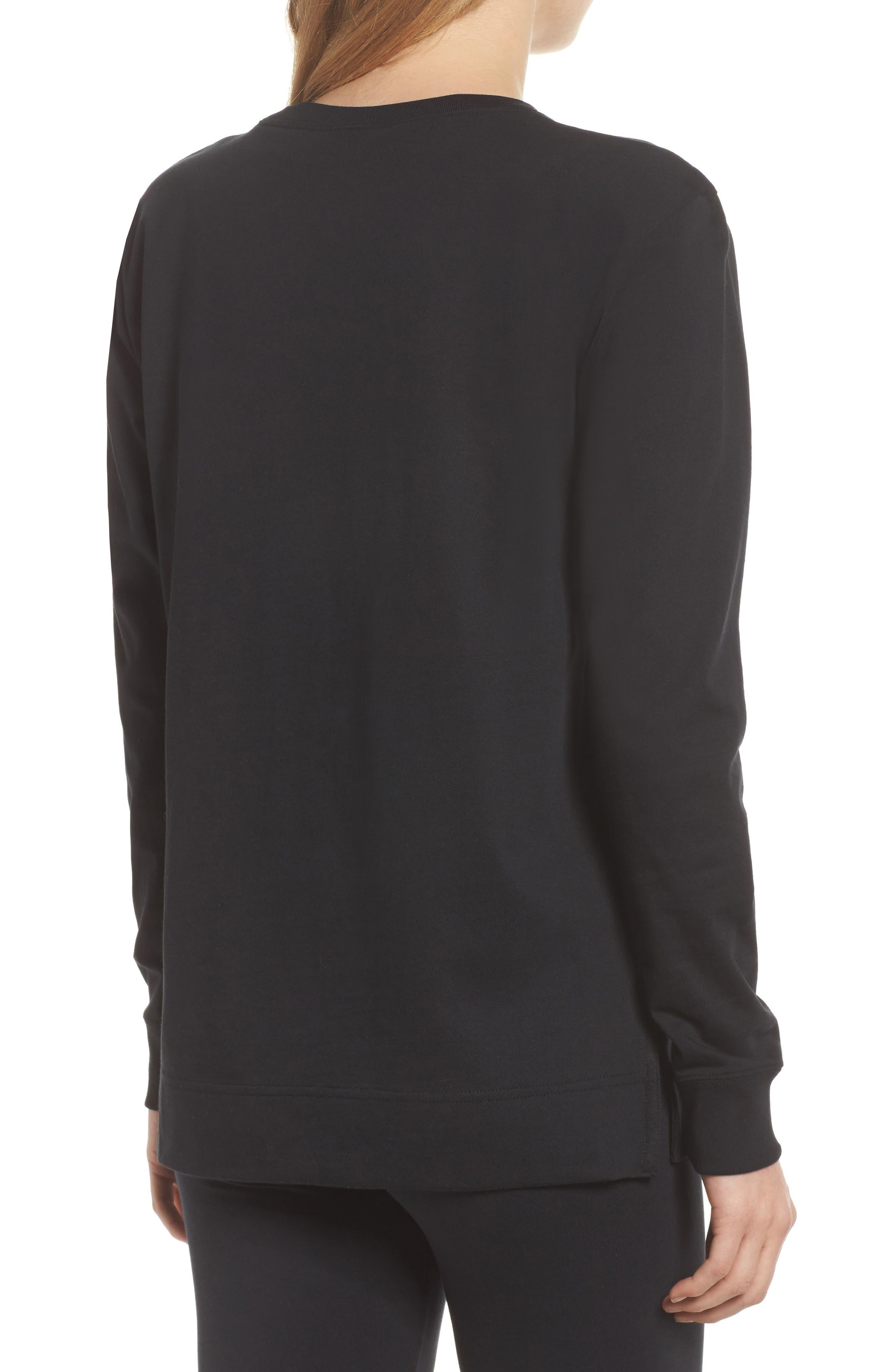 Sportswear HBR Women's Long Sleeve Tee,                             Alternate thumbnail 4, color,                             010