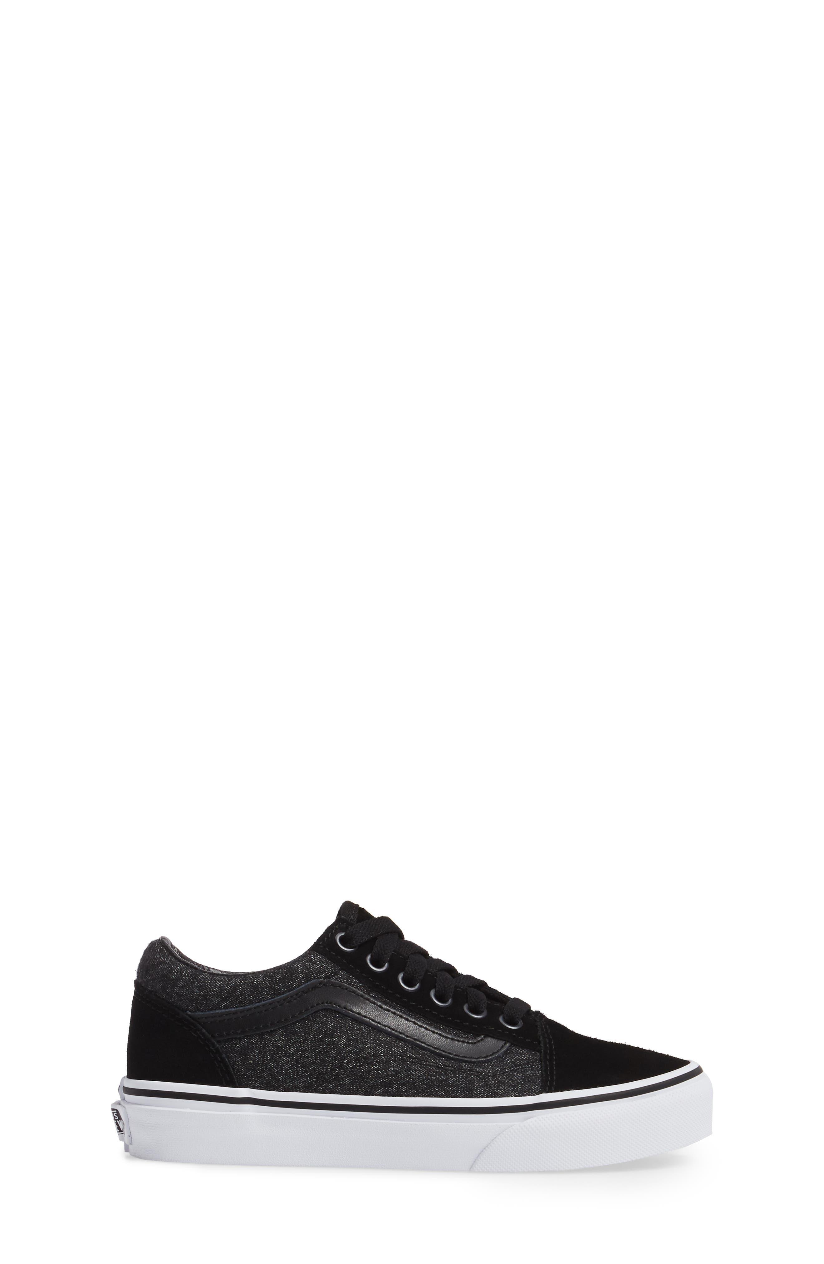 Old Skool Sneaker,                             Alternate thumbnail 3, color,                             001