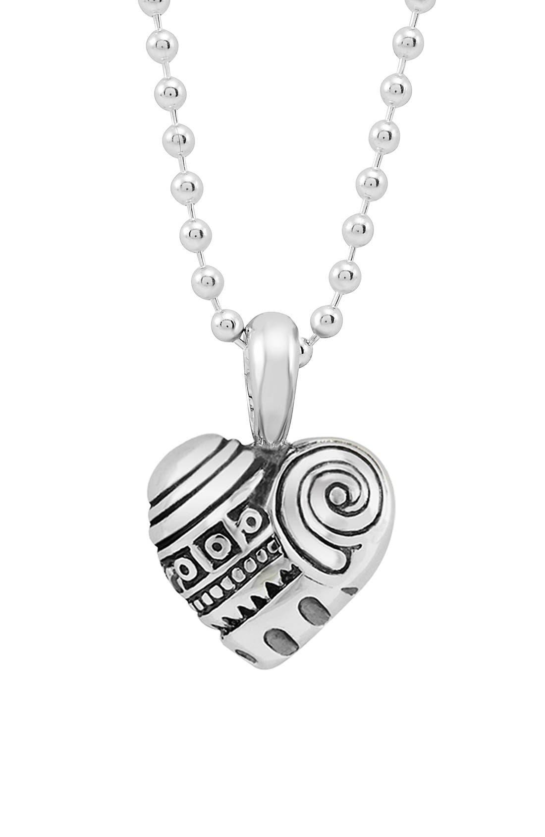 'Hearts of Lagos - Seattle' Reversible Pendant Necklace,                             Main thumbnail 1, color,