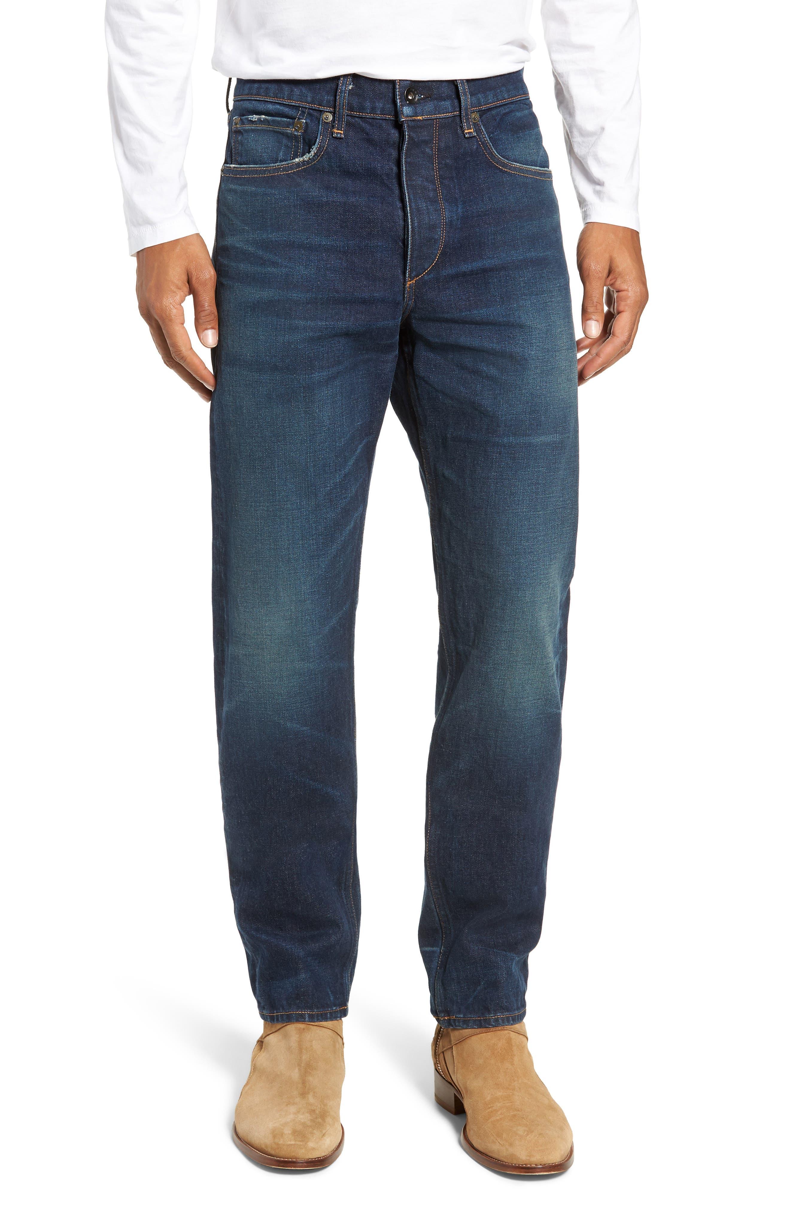 Fit 2 Slim Fit Jeans,                             Main thumbnail 1, color,                             WORN ACE