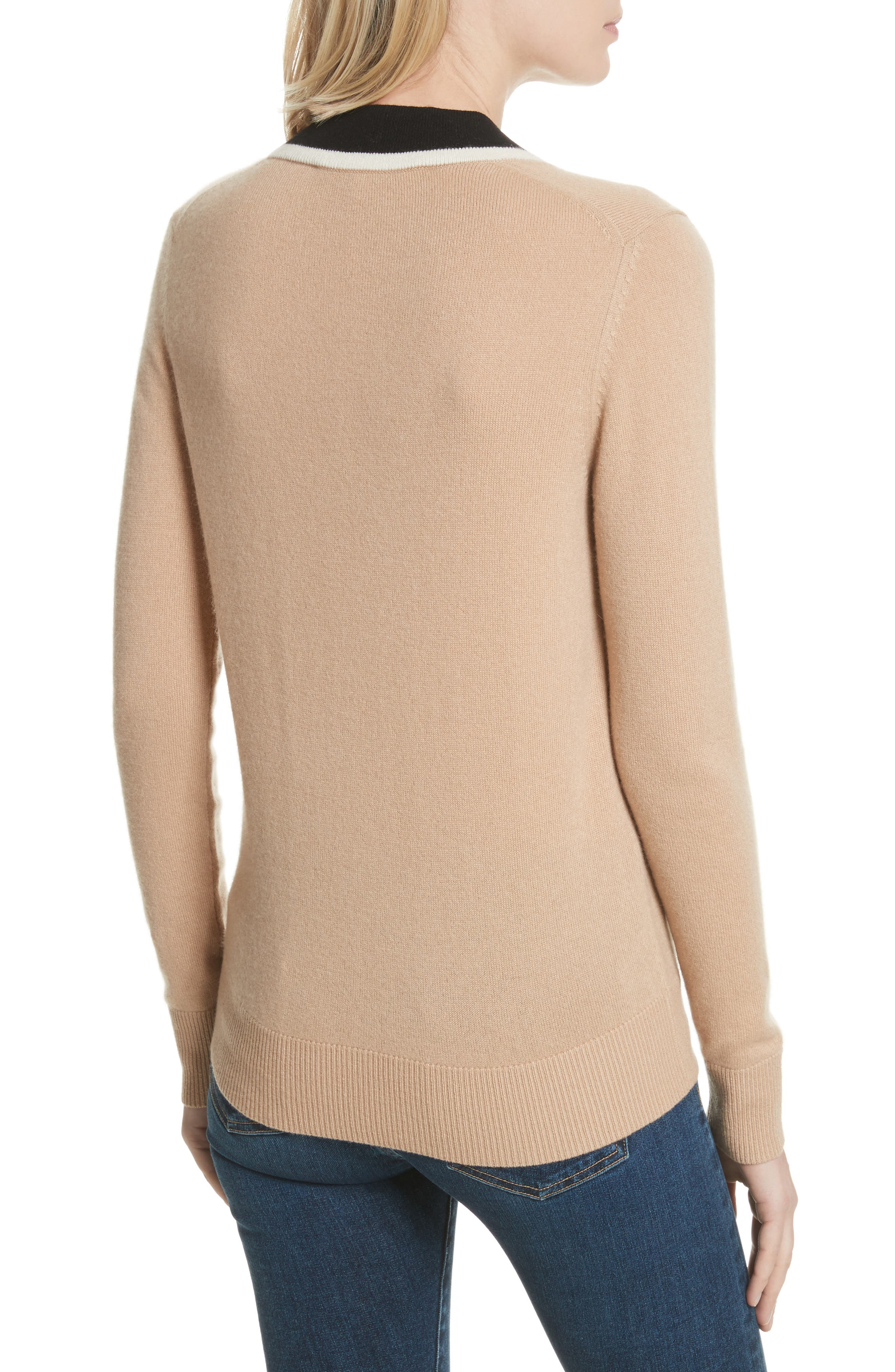 Barrett Cashmere Sweater,                             Alternate thumbnail 4, color,