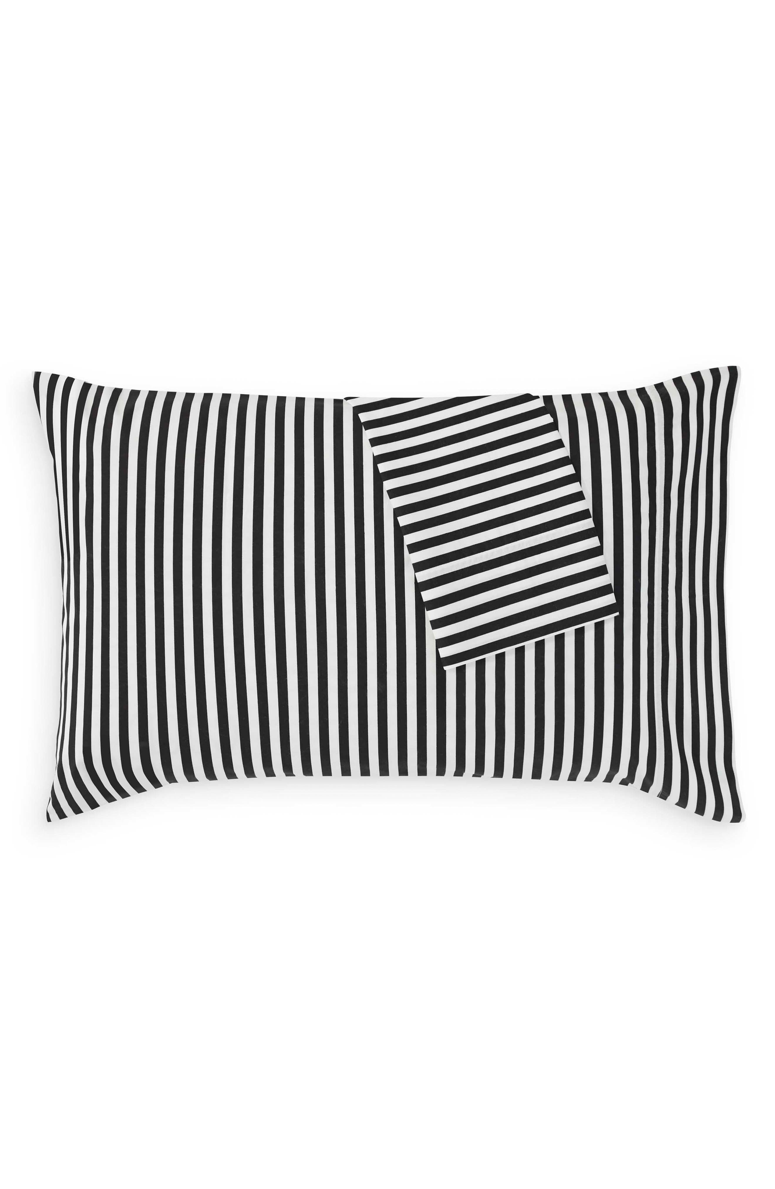 Ajo Black Pillowcases,                             Alternate thumbnail 2, color,                             BLACK