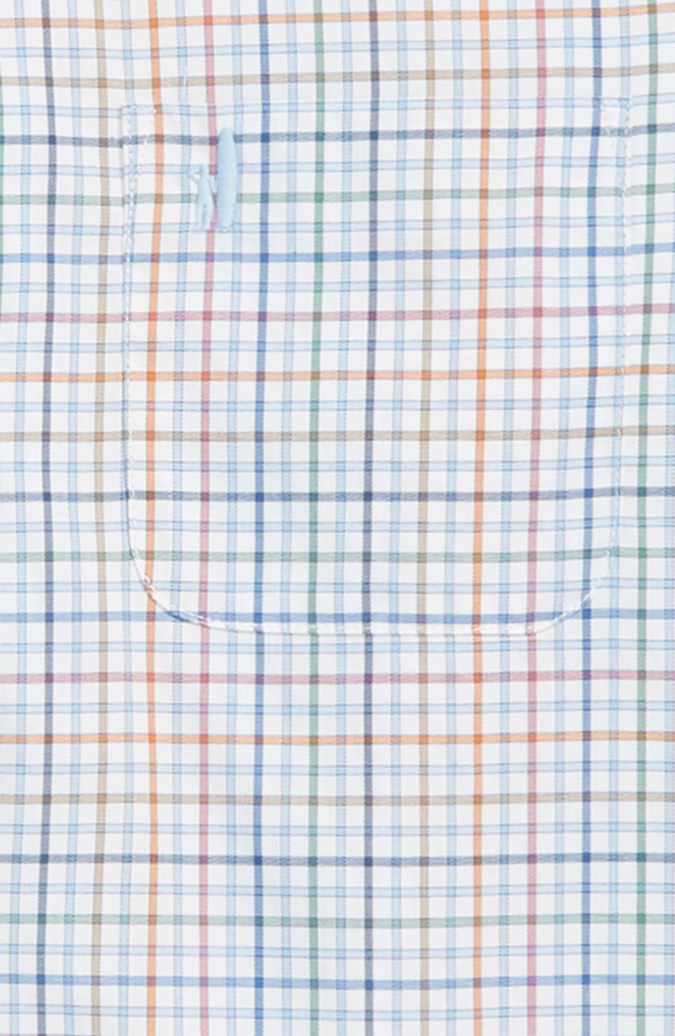 Chester Button Down Shirt,                             Alternate thumbnail 2, color,                             GULF BLUE