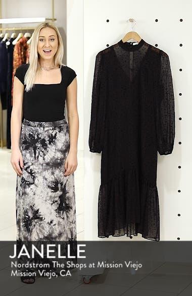 Flocked Star Ruffle Dress, sales video thumbnail
