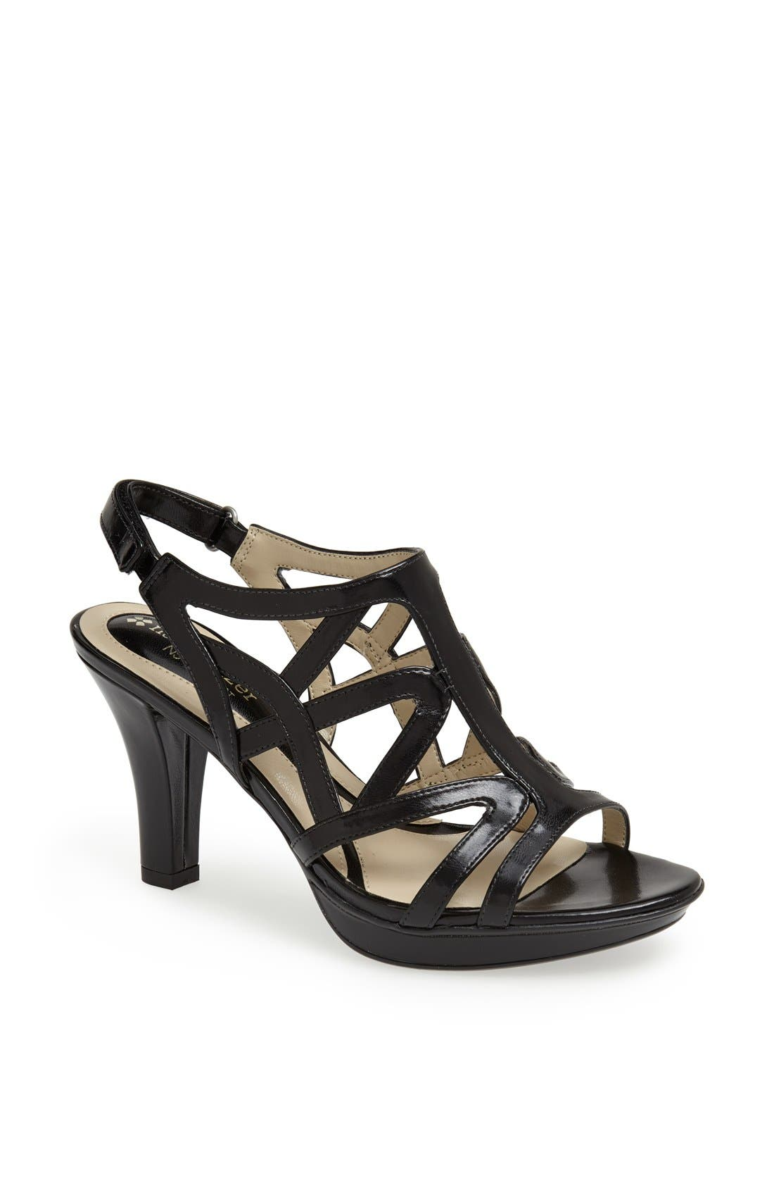 'Danya' Sandal,                         Main,                         color, 001