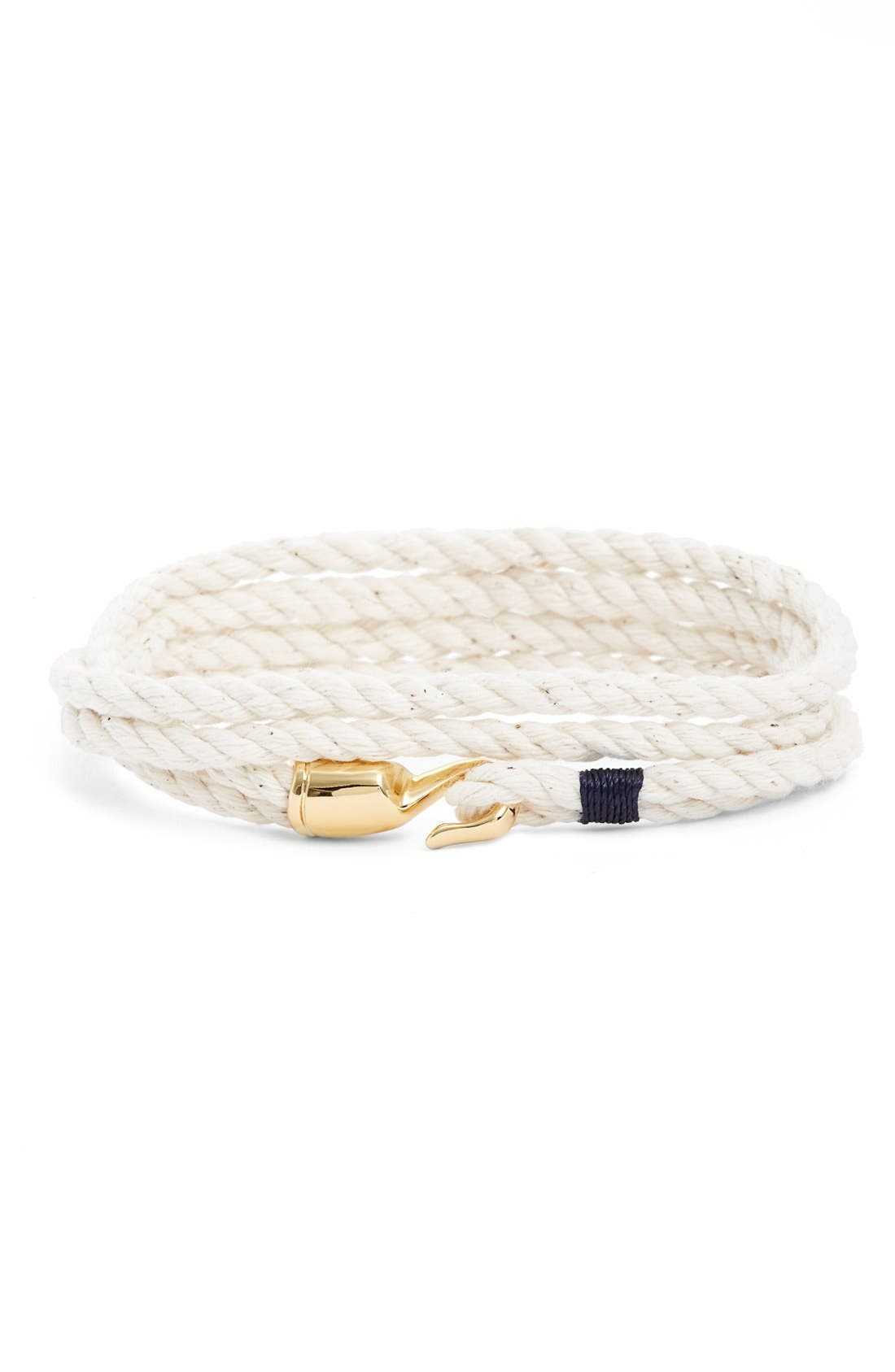 'Trice' Wrap Rope Bracelet,                         Main,                         color, 101