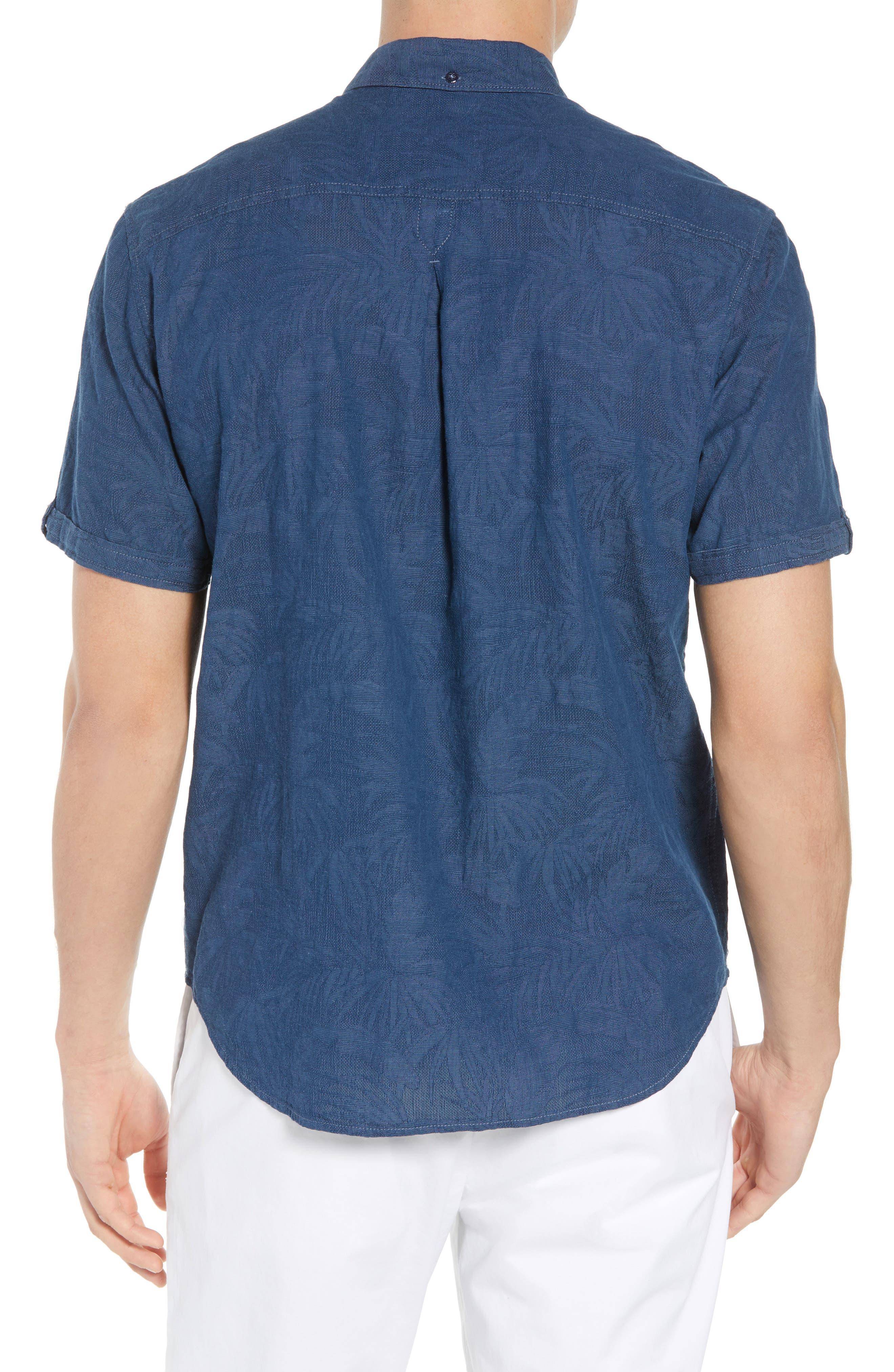 Desert Fronds Sport Shirt,                             Alternate thumbnail 2, color,                             402