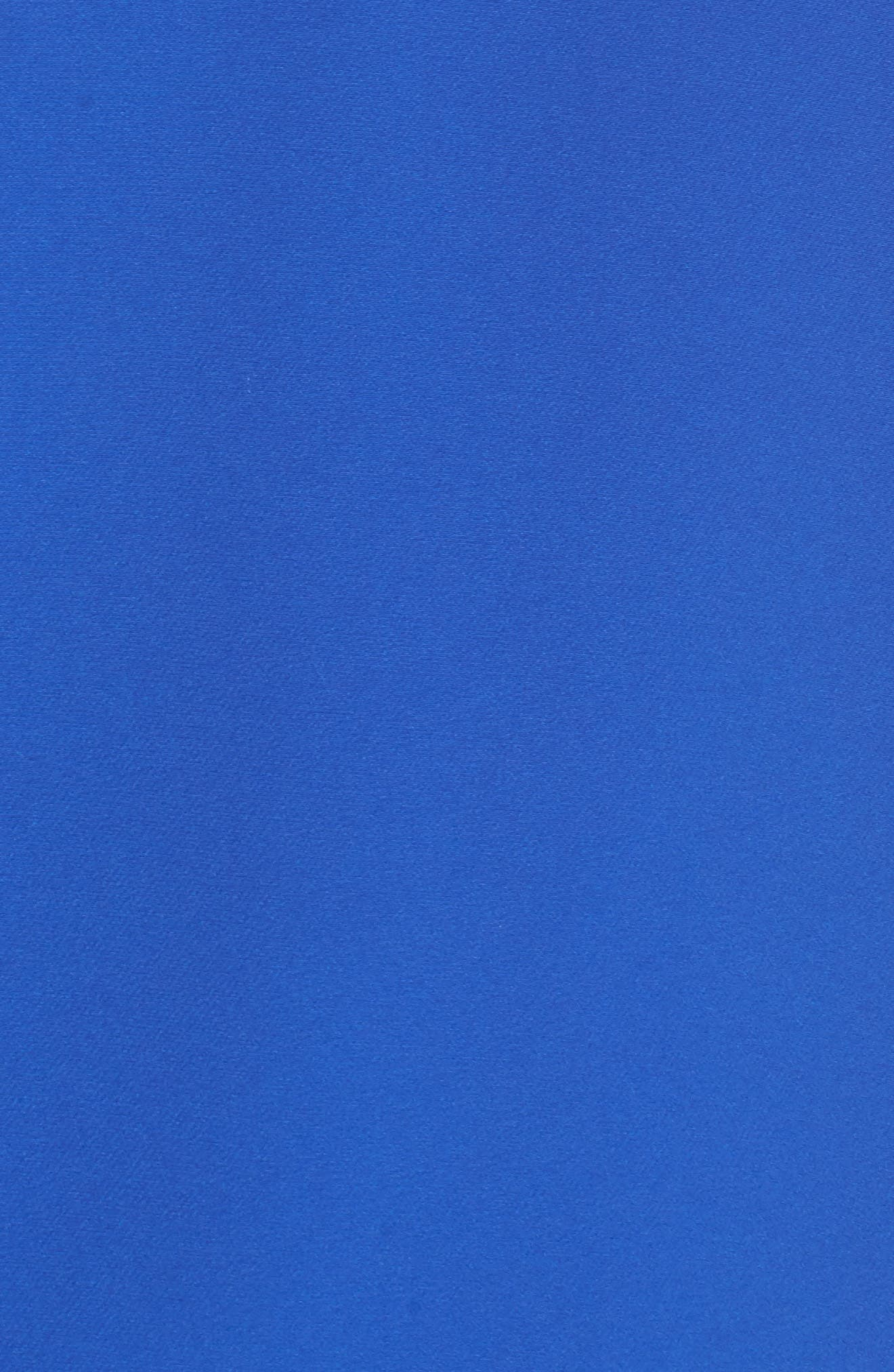 Bell Sleeve Shift Dress,                             Alternate thumbnail 6, color,                             PATRIOT BLUE