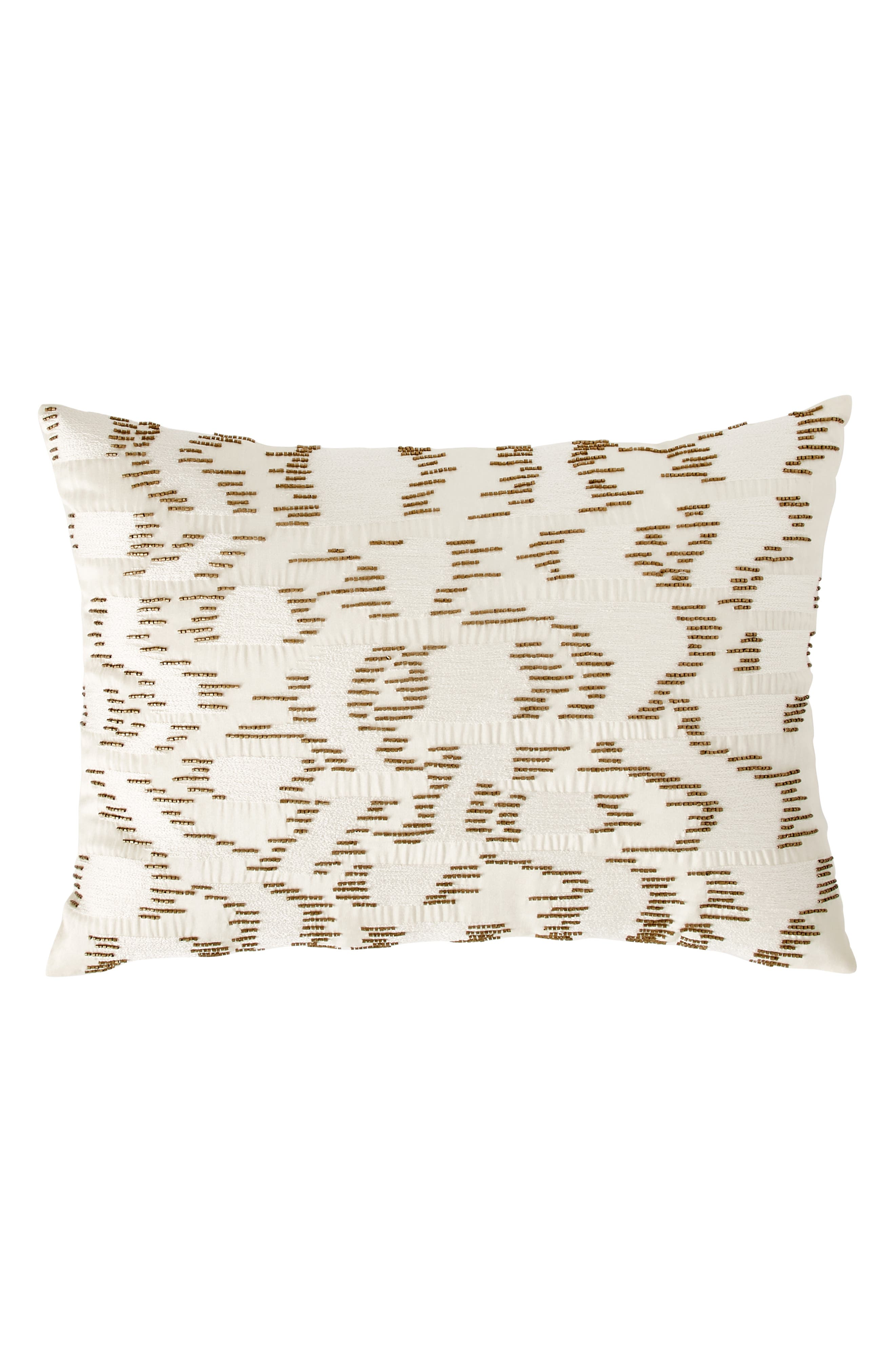 MICHAEL ARAM Beaded & Embroidered Accent Pillow, Main, color, 900