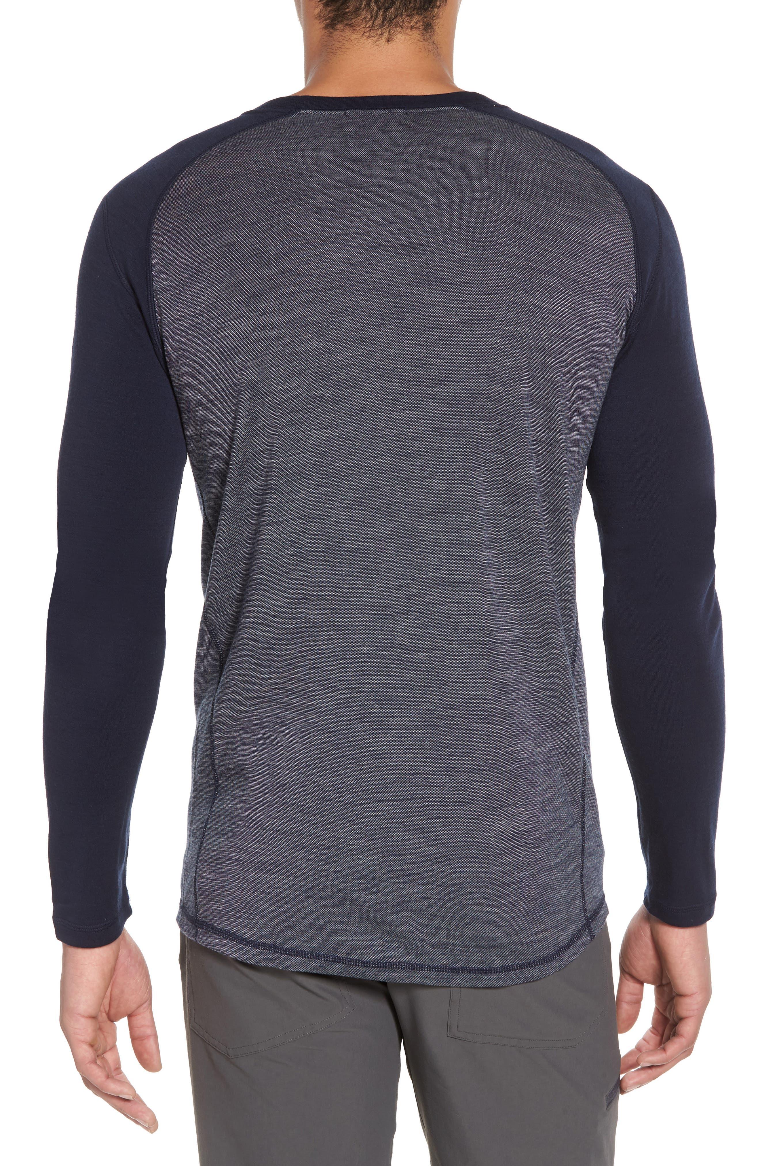Merino Wool Raglan T-Shirt,                             Alternate thumbnail 2, color,                             410