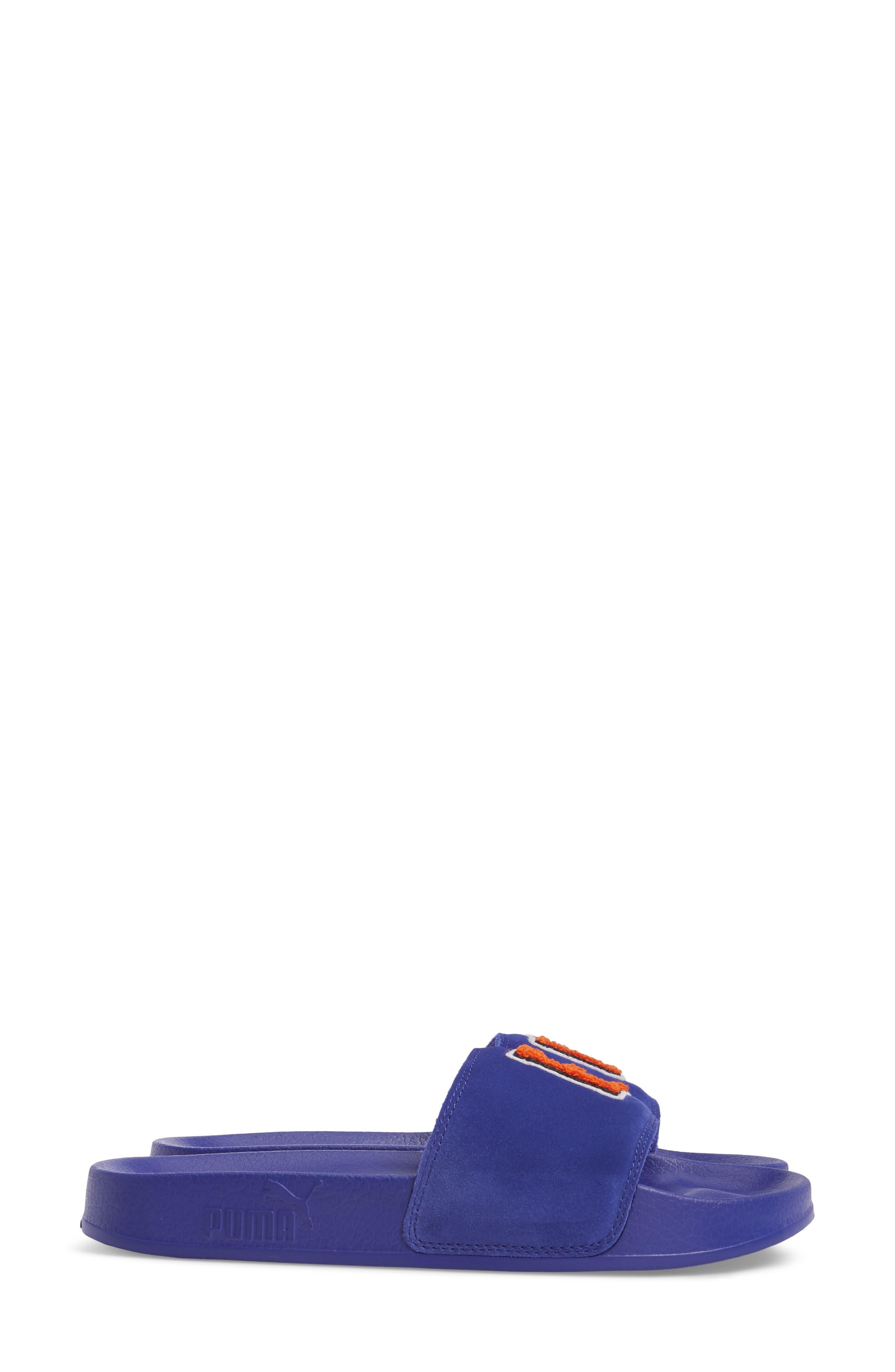 FENTY PUMA by Rihanna Lead Cat Slide Sandals,                             Alternate thumbnail 10, color,