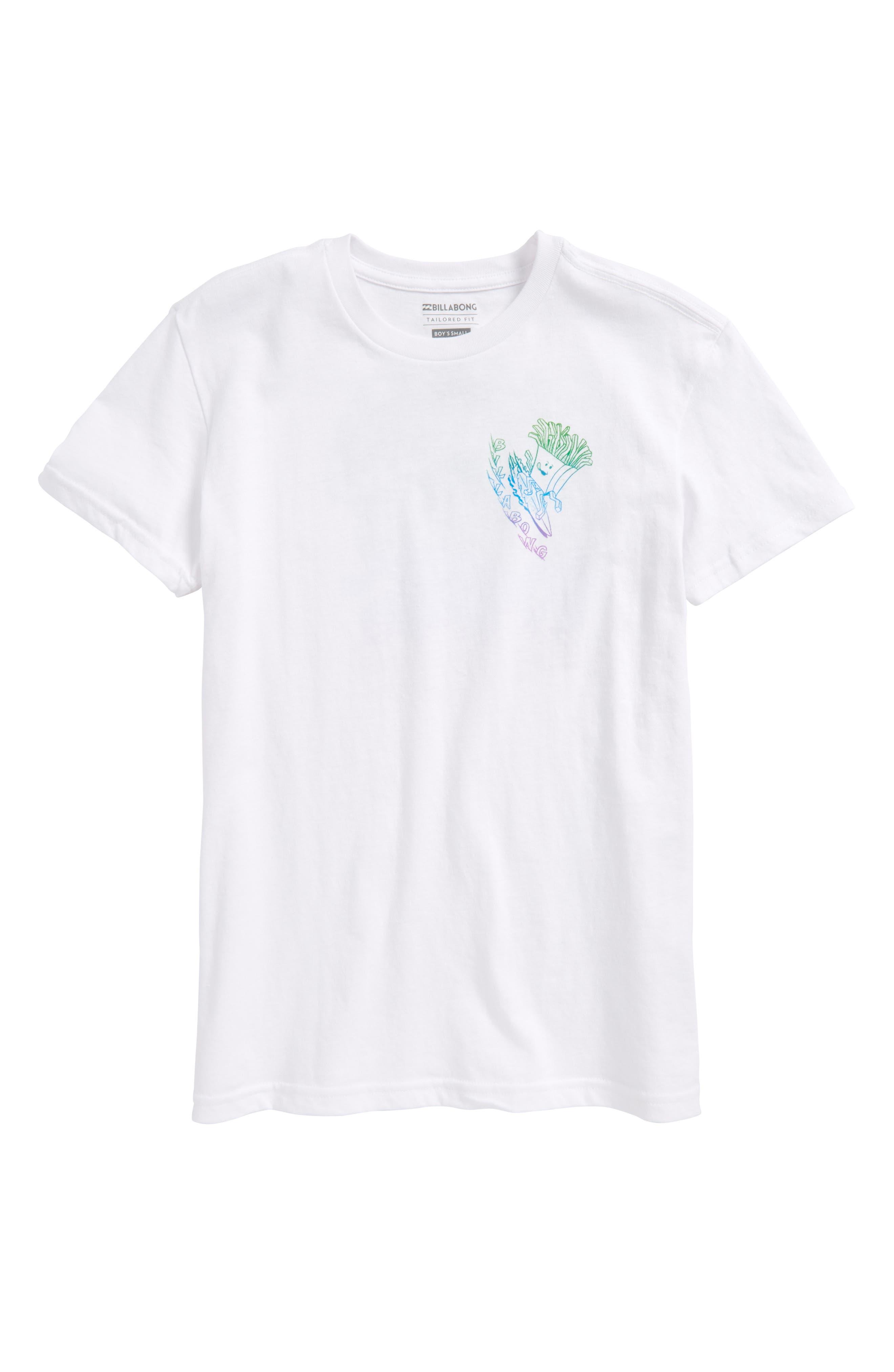 Snacks & Shacks Graphic T-Shirt,                             Main thumbnail 1, color,                             100