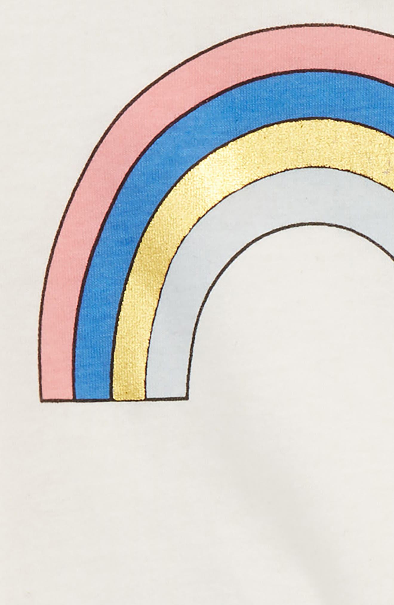 Rainbow Tee & Tutu Skirt Set,                             Alternate thumbnail 2, color,                             900
