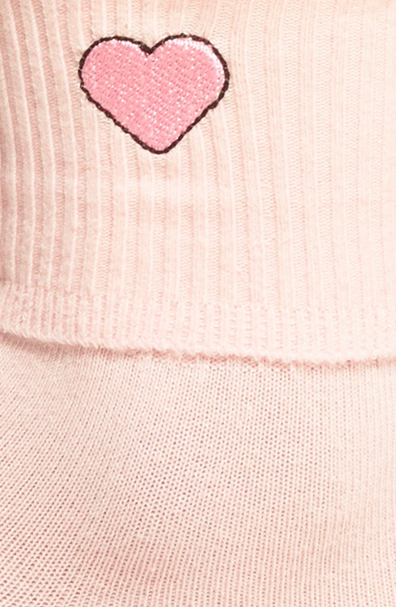 Heart Socks,                             Alternate thumbnail 2, color,                             650