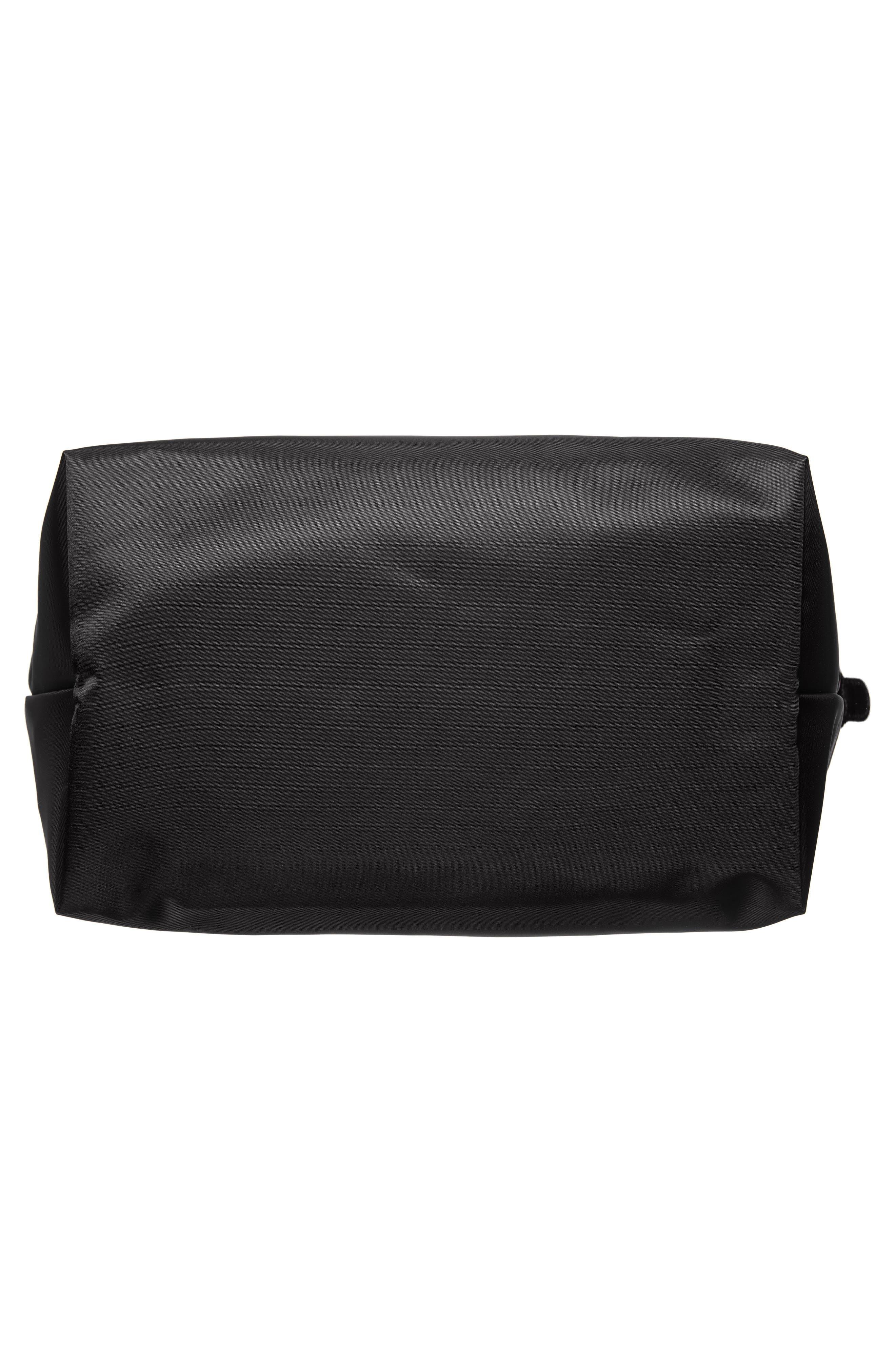 'Large Le Pliage Neo' Nylon Tote,                             Alternate thumbnail 4, color,                             BLACK