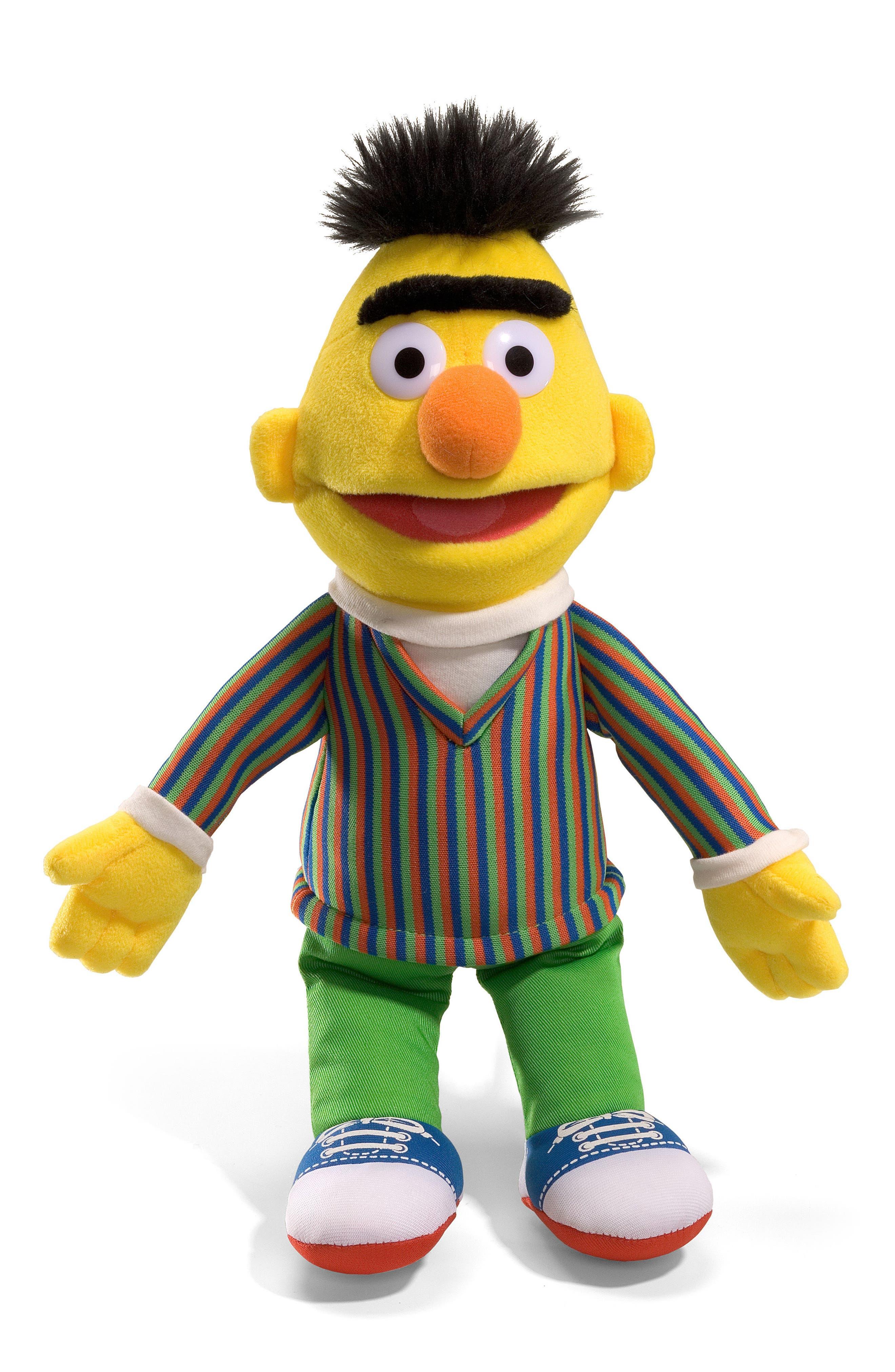 Infant Gund Sesame Street  Bert Stuffed Doll