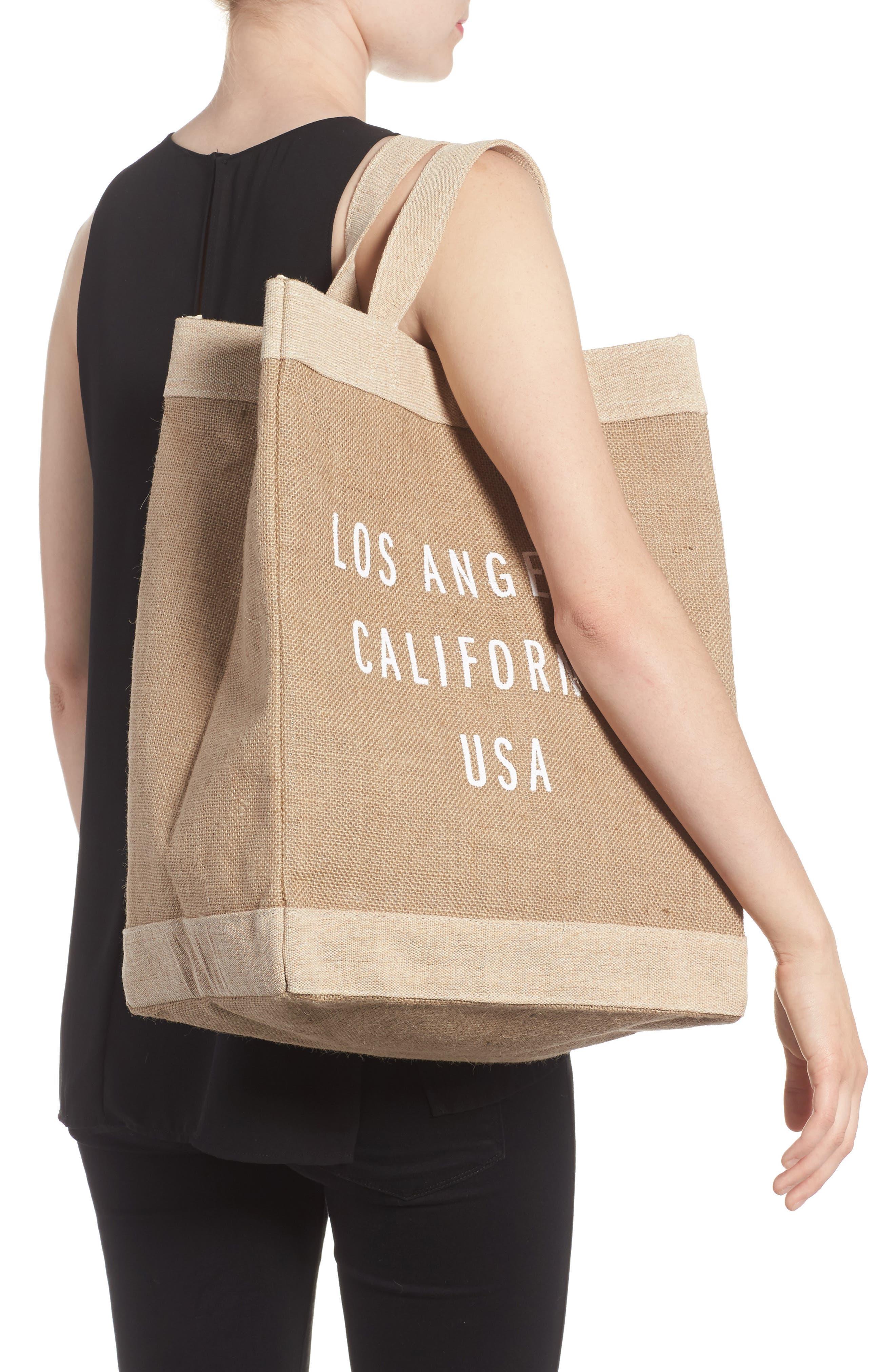 Los Angeles Simple Market Bag,                             Alternate thumbnail 2, color,                             200