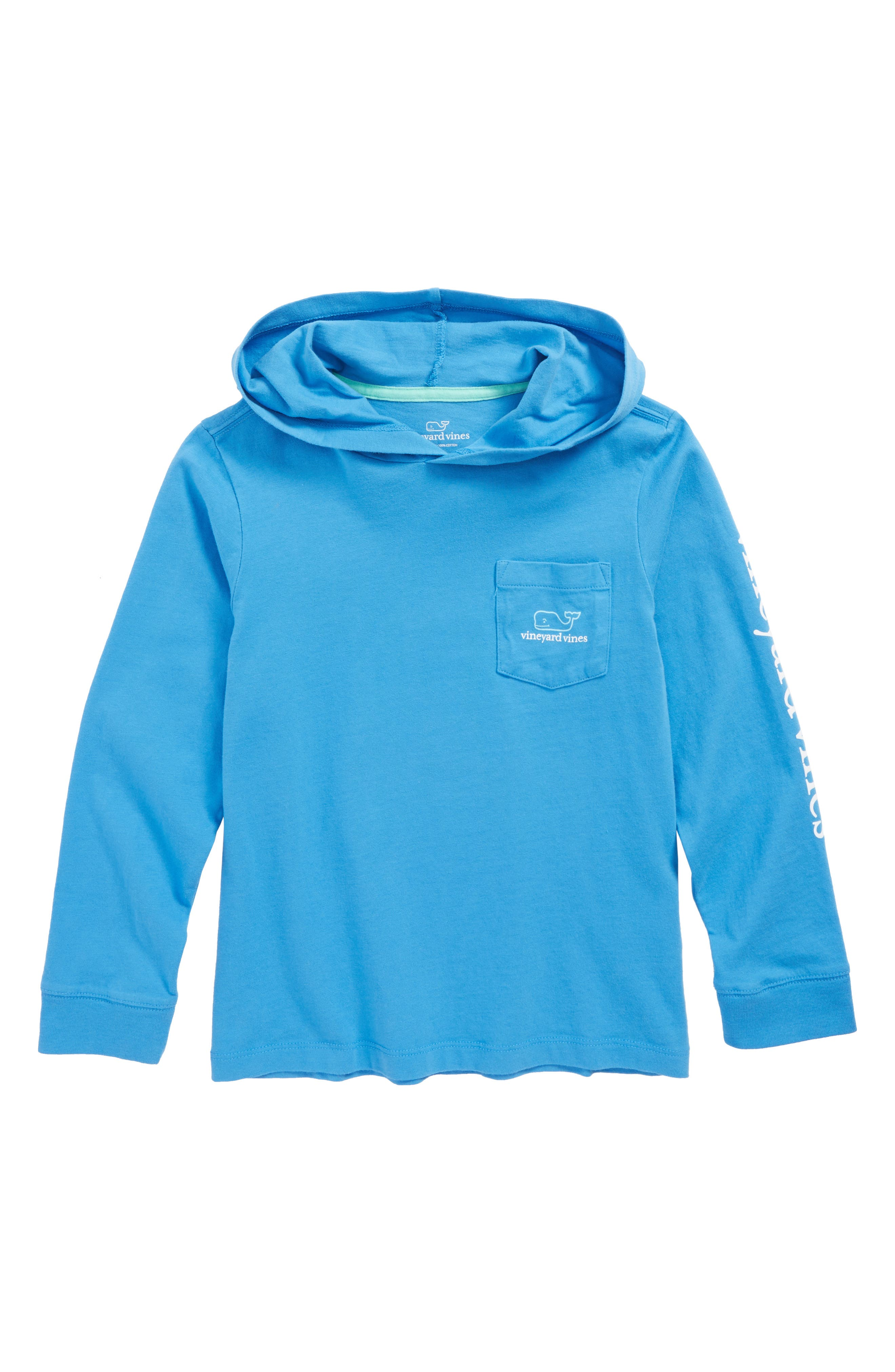 Two-Tone Whale Hooded T-Shirt,                             Main thumbnail 2, color,