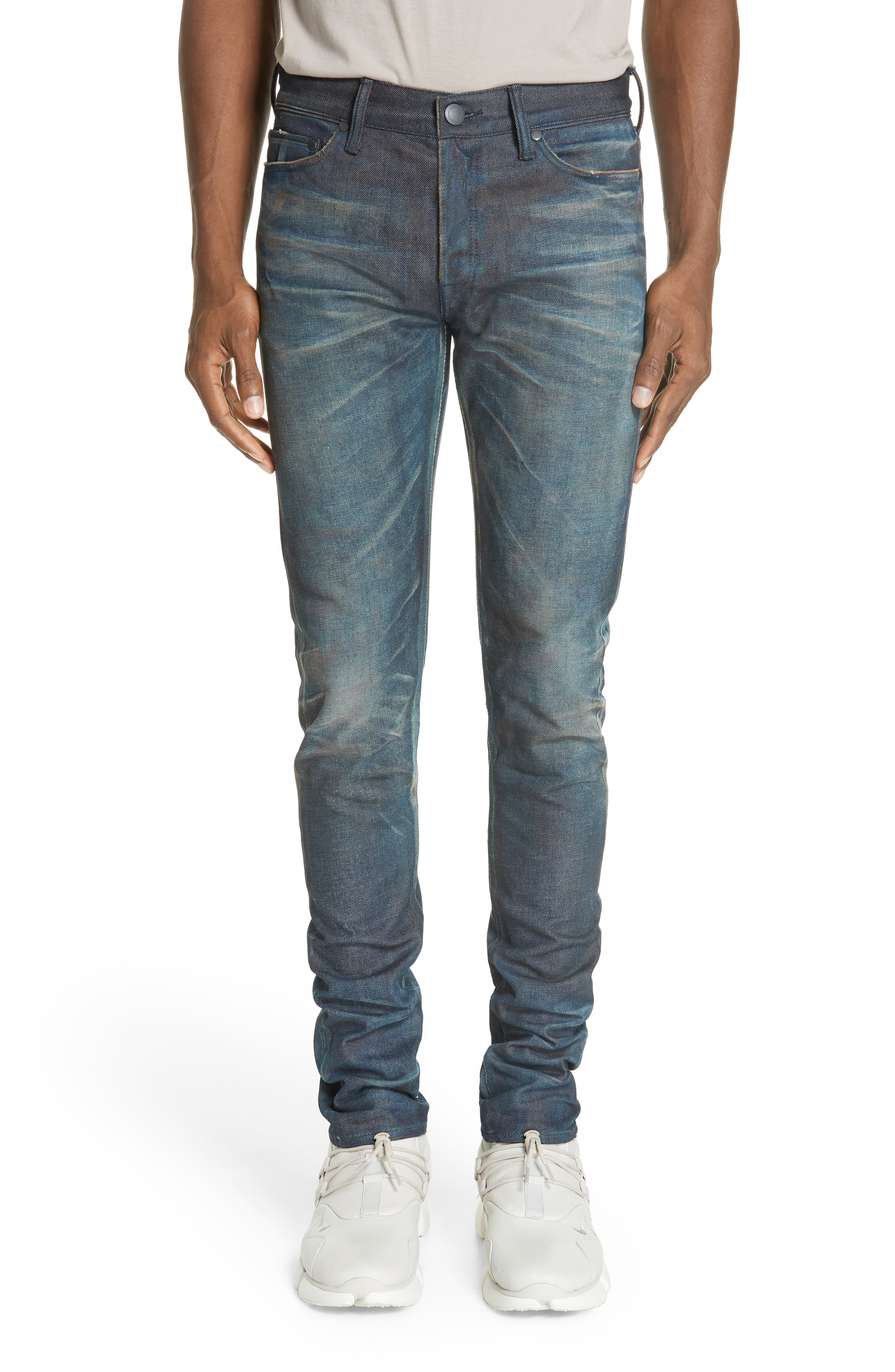 The Cast 2 Skinny Fit Jeans,                             Main thumbnail 1, color,                             BLUE