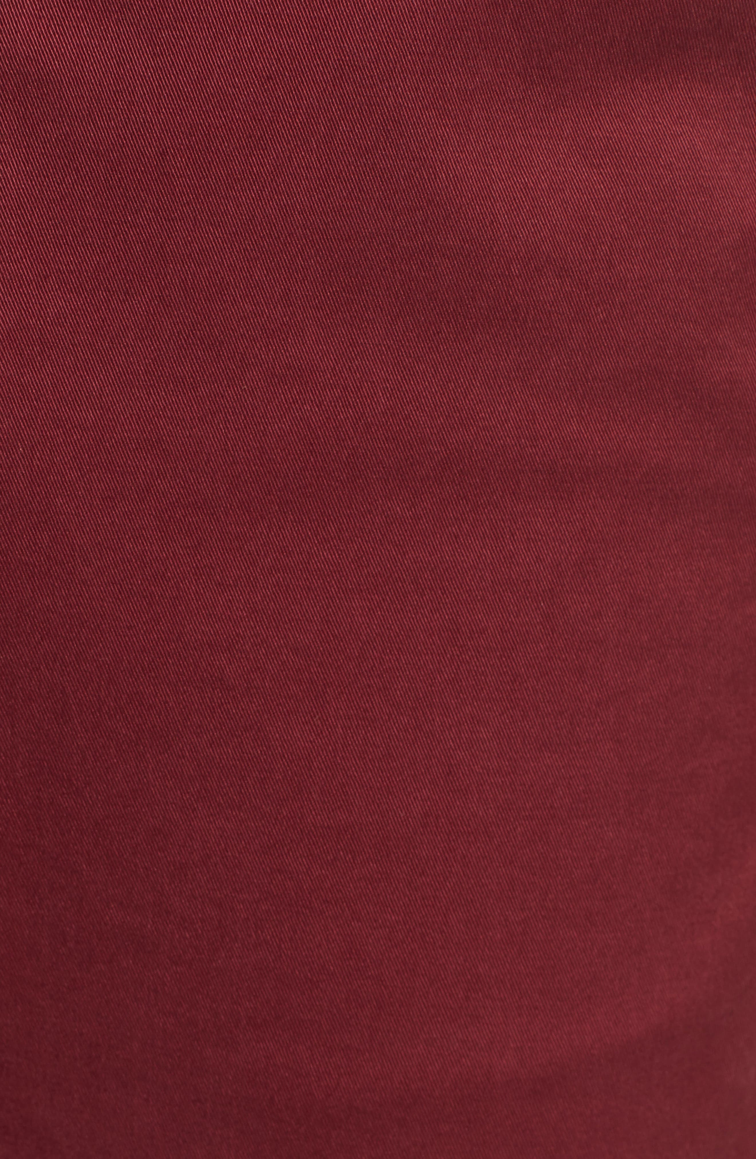 Firebrand Taped Chinos,                             Alternate thumbnail 5, color,                             BORDEAUX