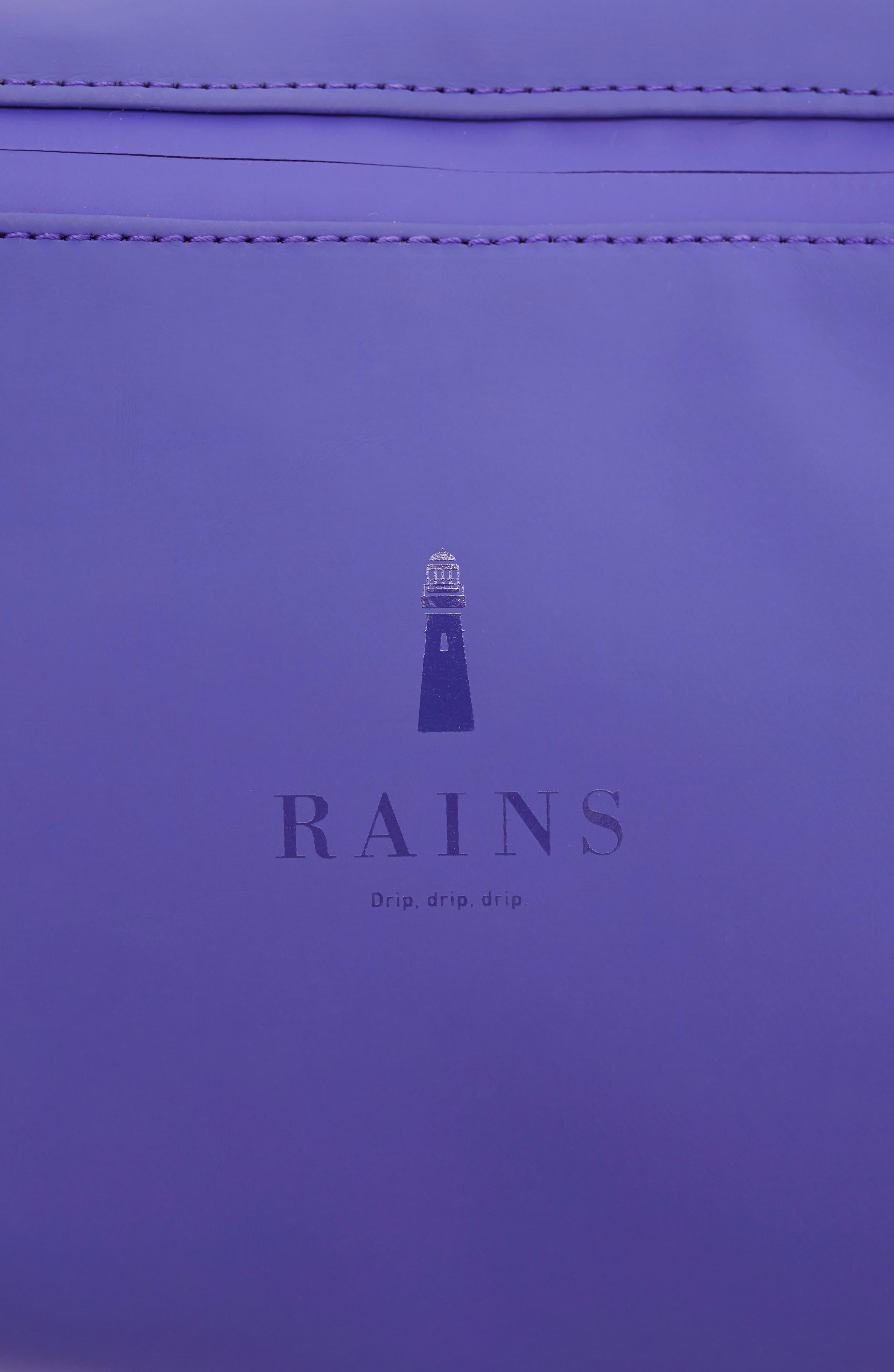 RAINS,                             Belt Bag,                             Alternate thumbnail 6, color,                             LILAC