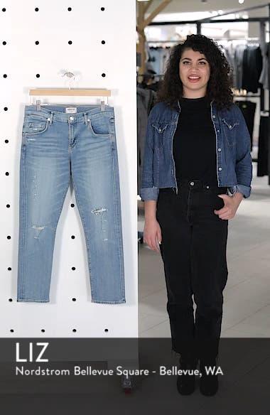 Isabel Ankle Slim Boyfriend Jeans, sales video thumbnail