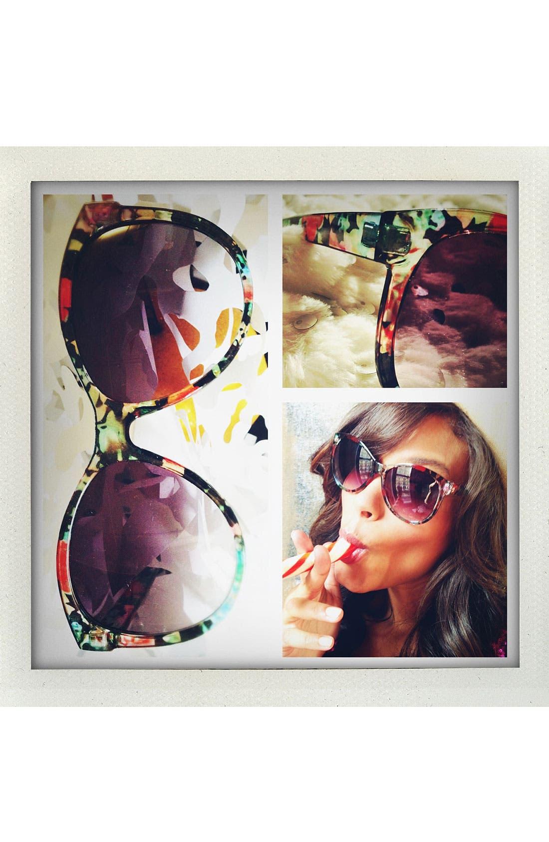'Endless Summer' Sunglasses,                             Alternate thumbnail 3, color,                             001