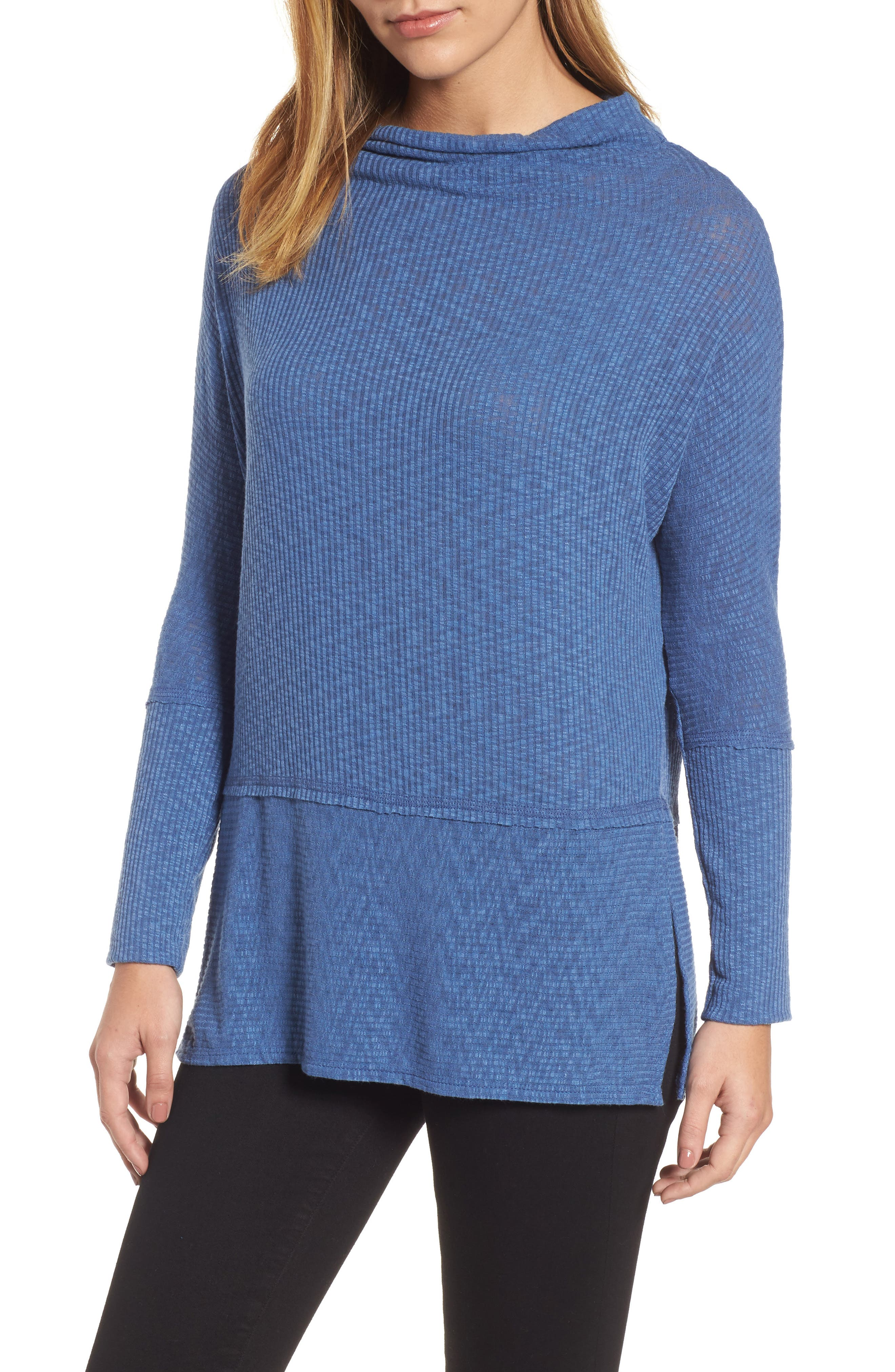 Convertible Wide Neck Top,                             Main thumbnail 4, color,
