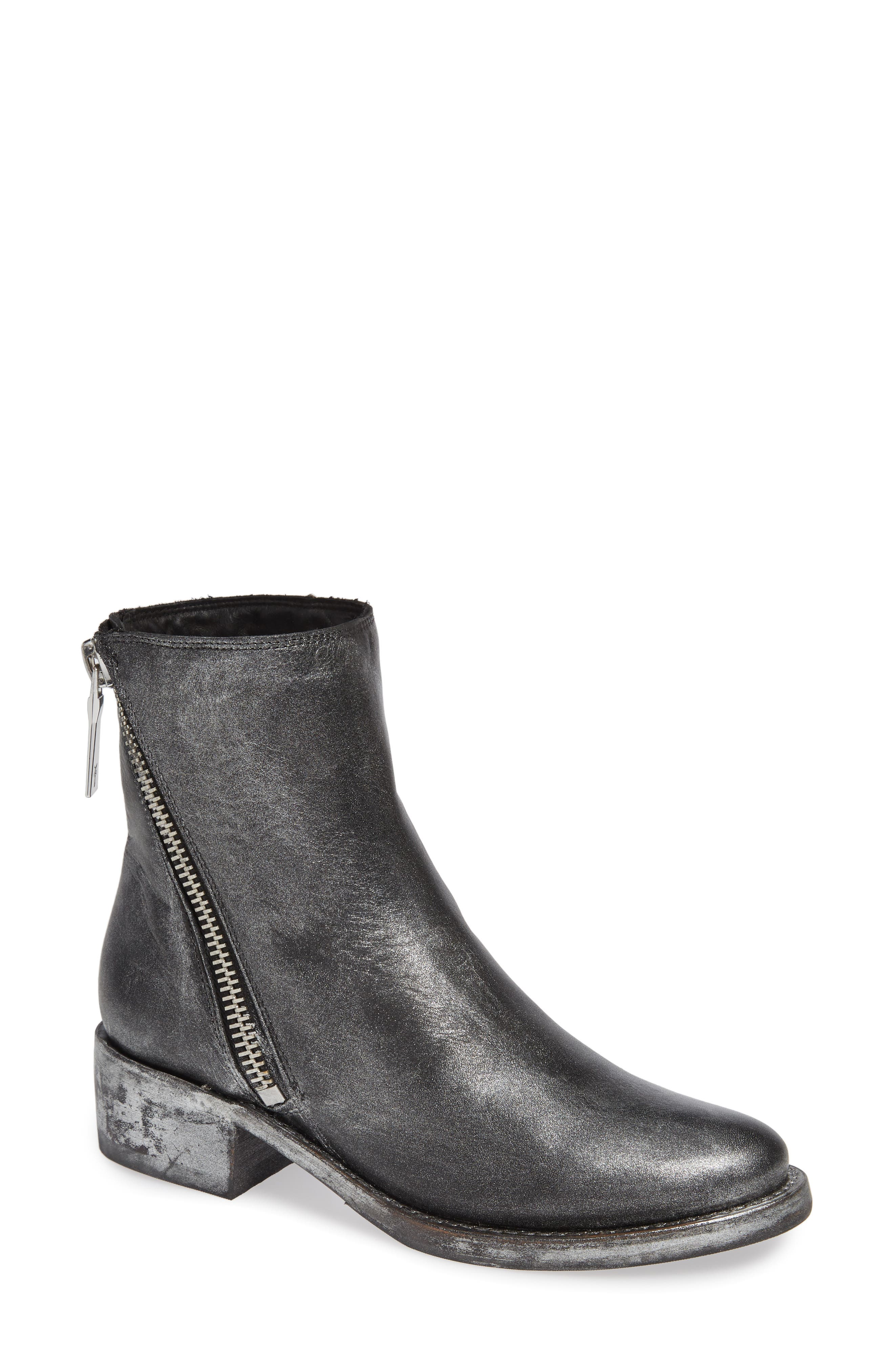 Frye Demi Zip Bootie, Black
