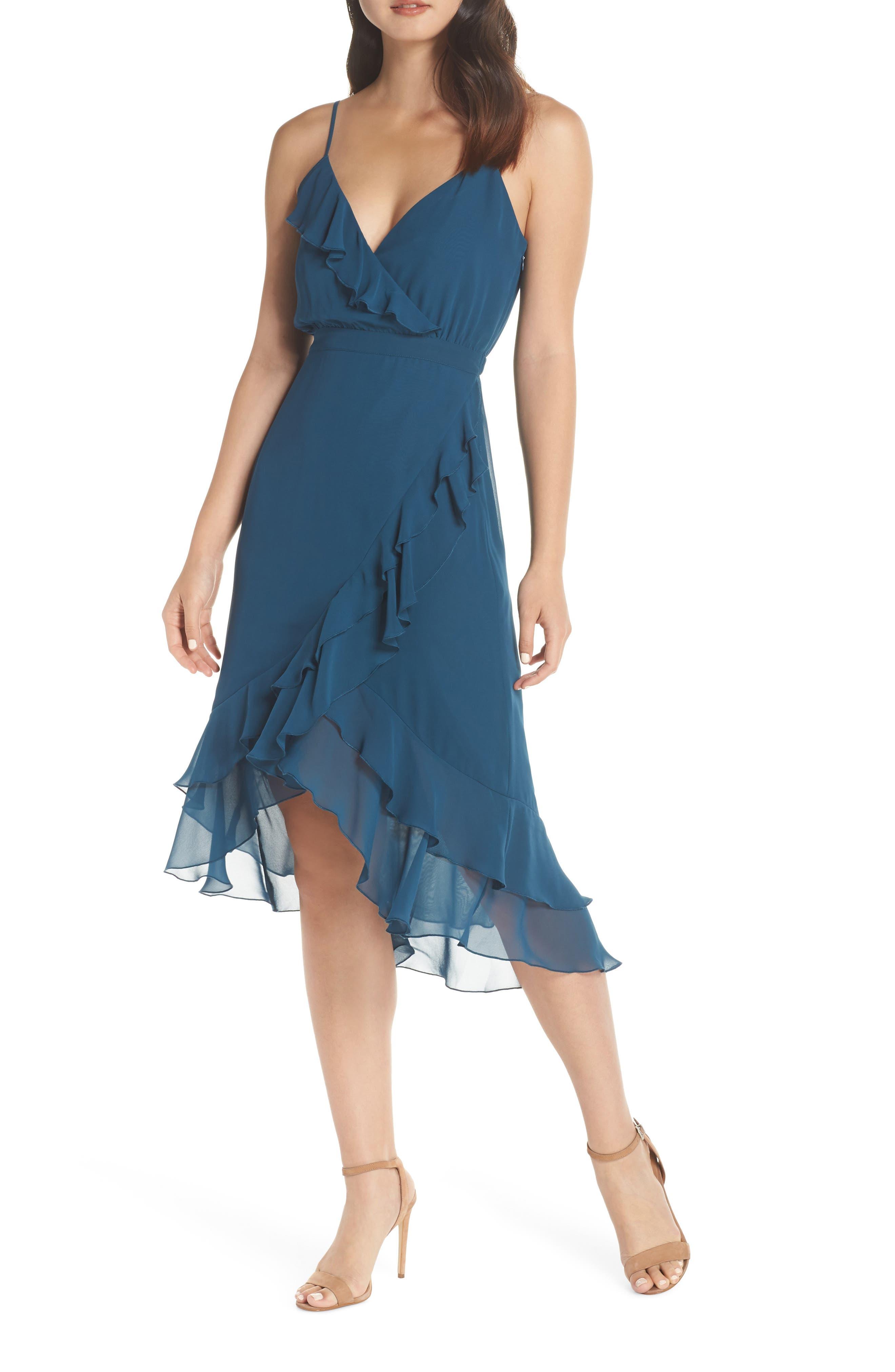 Ali & Jay Pretty Lady High/low Dress, Blue