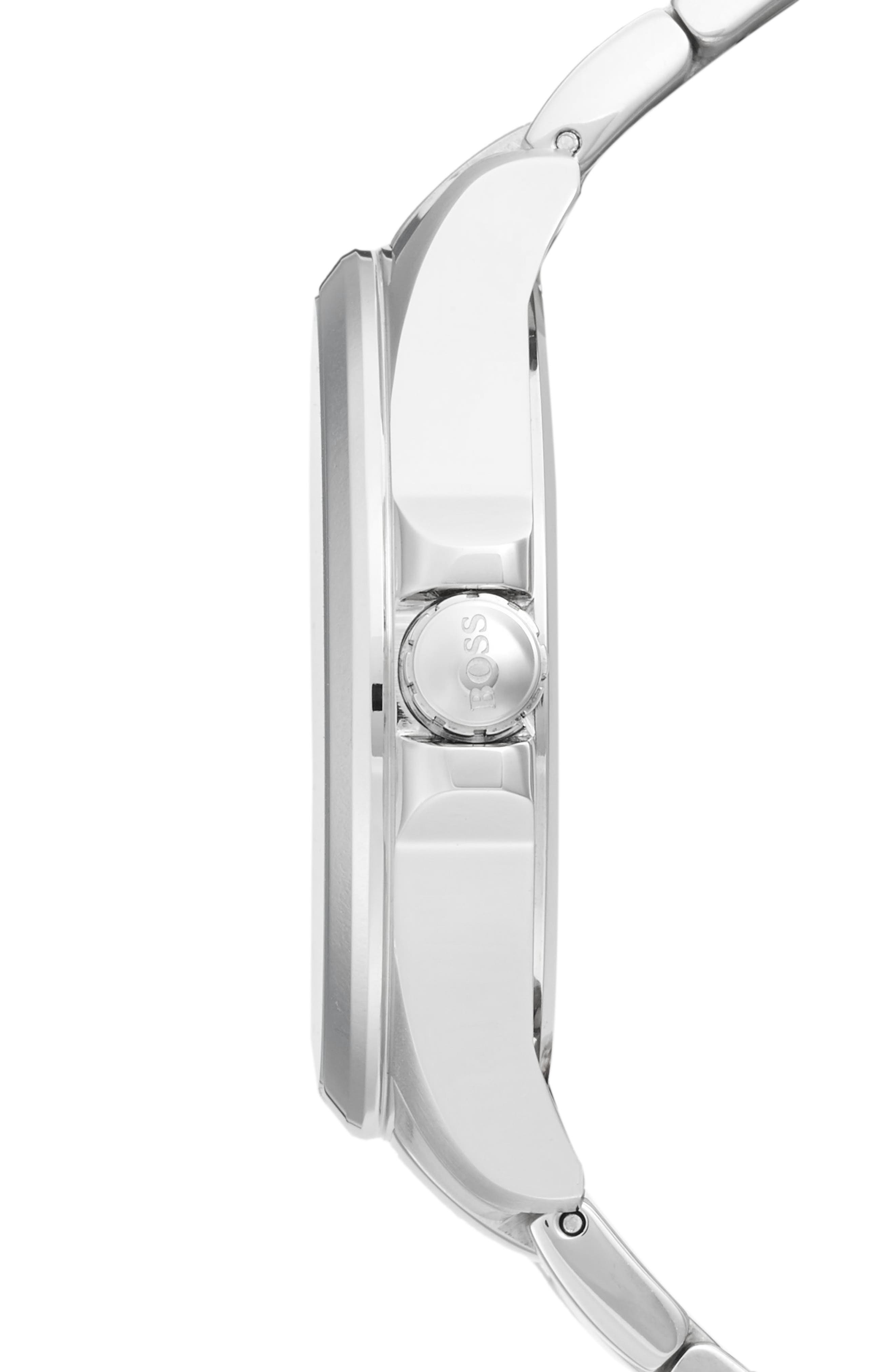 The James Bracelet Watch, 42mm,                             Alternate thumbnail 3, color,                             040