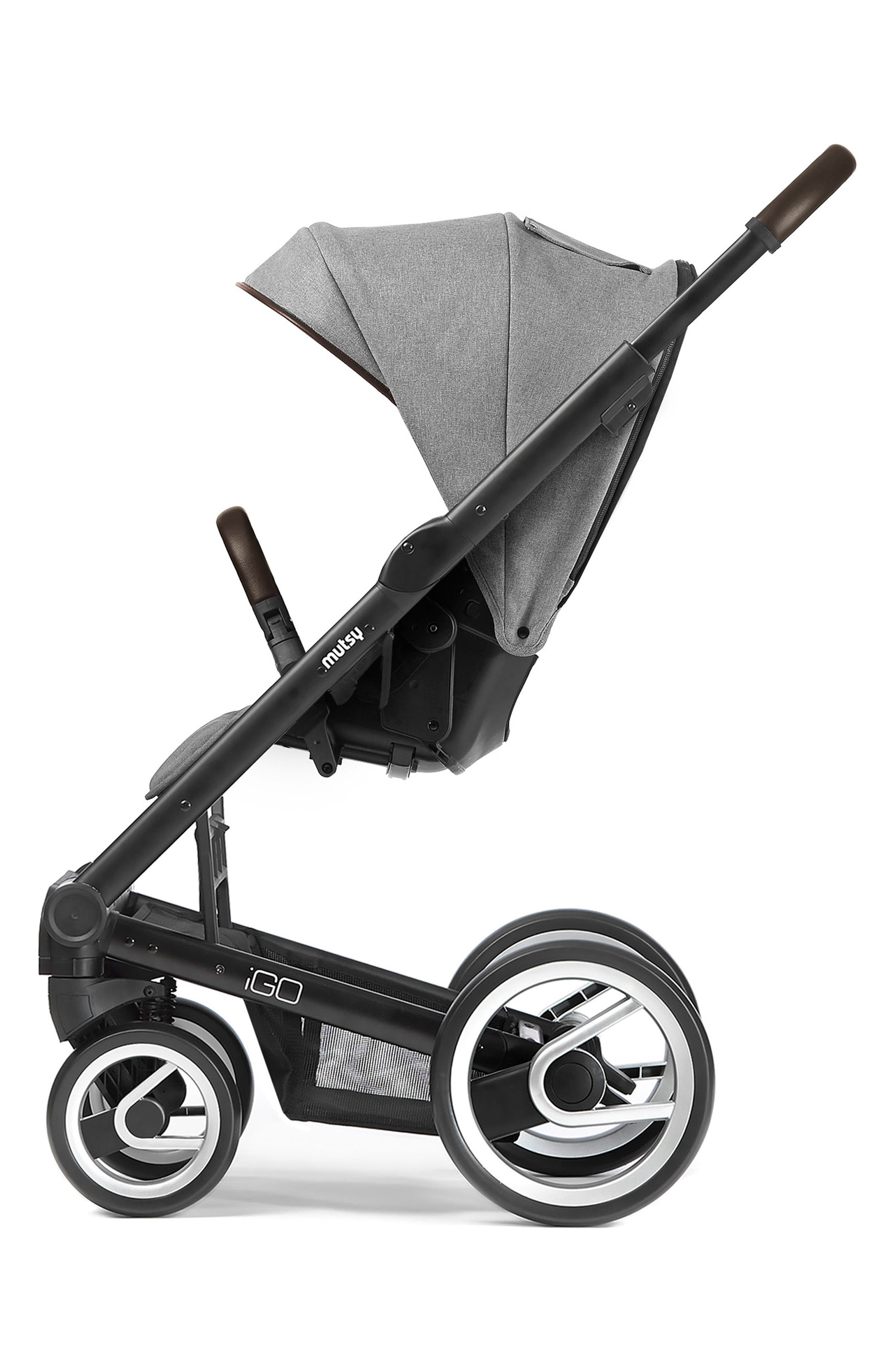 Igo - Farmer Earth Stroller,                             Alternate thumbnail 2, color,                             BLACK