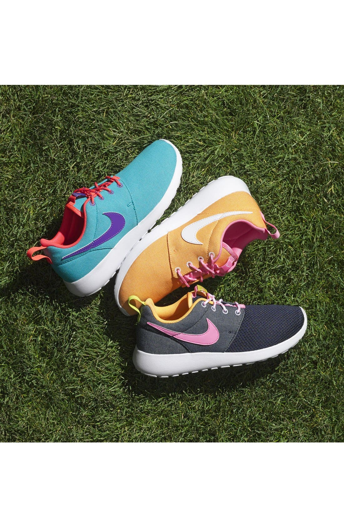 'Roshe Run' Athletic Shoe,                             Main thumbnail 1, color,                             010
