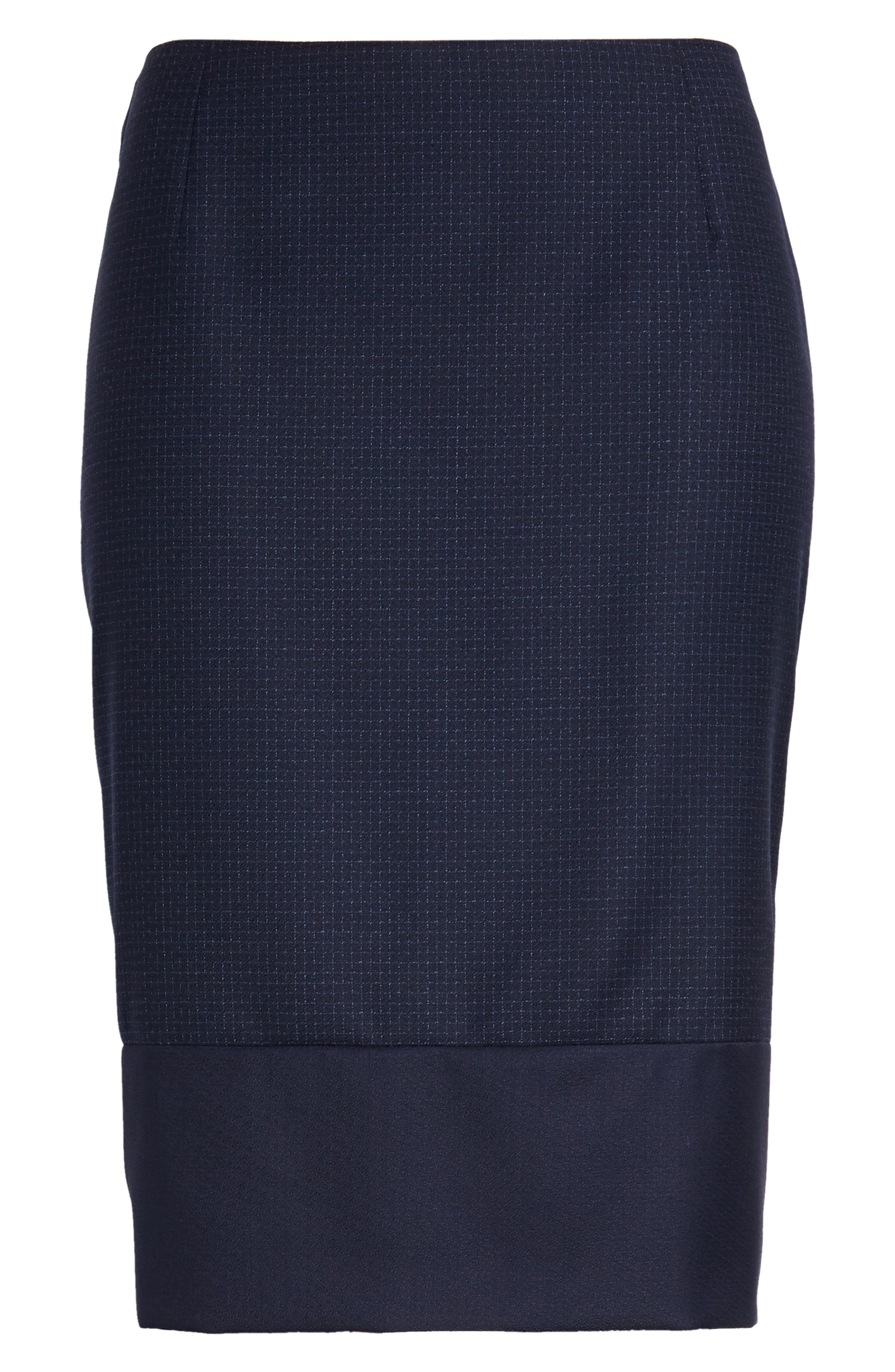 Vibena Windowpane Skirt,                             Alternate thumbnail 6, color,                             462