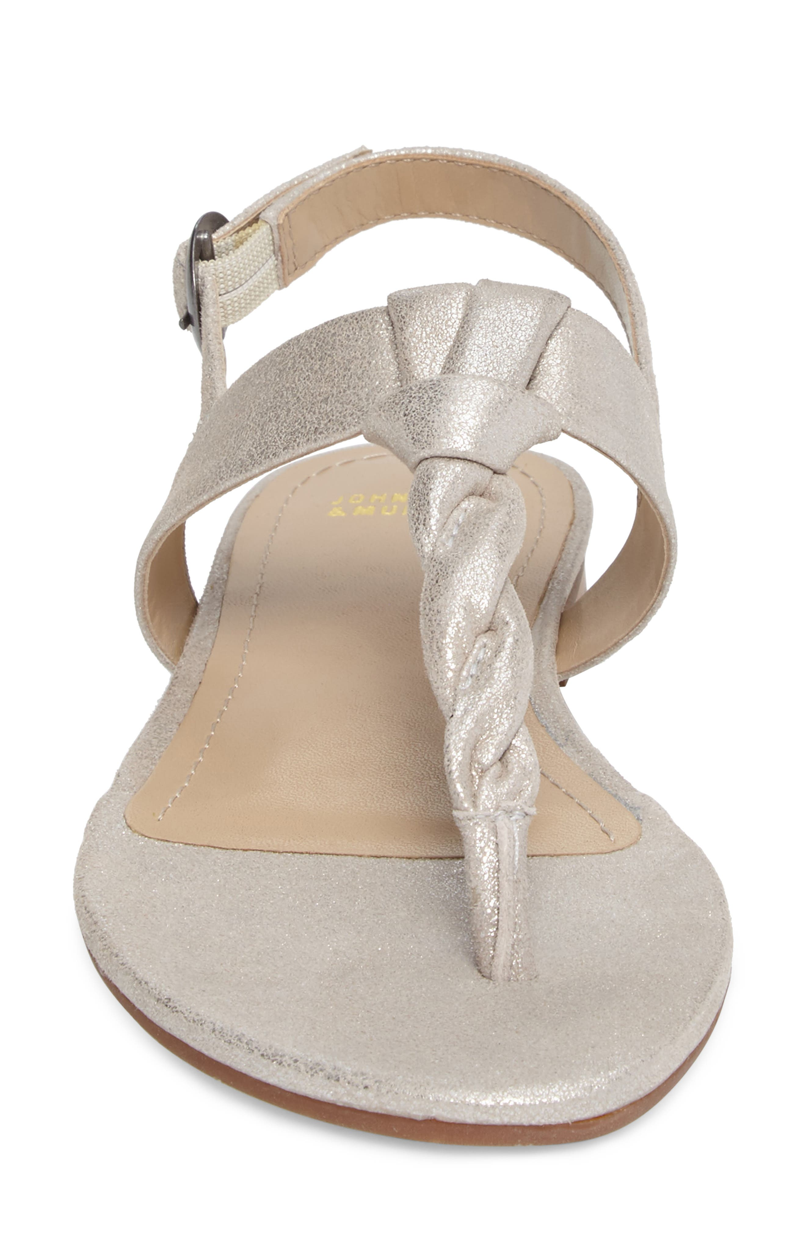 Holly Twisted T-Strap Sandal,                             Alternate thumbnail 17, color,
