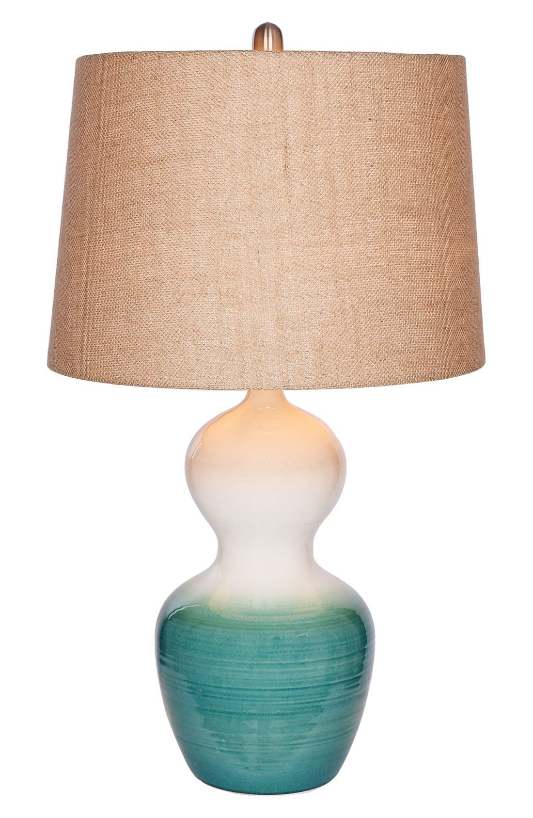 JAlexander Skylar Ombré Ceramic Table Lamp,                             Main thumbnail 1, color,                             BLUE