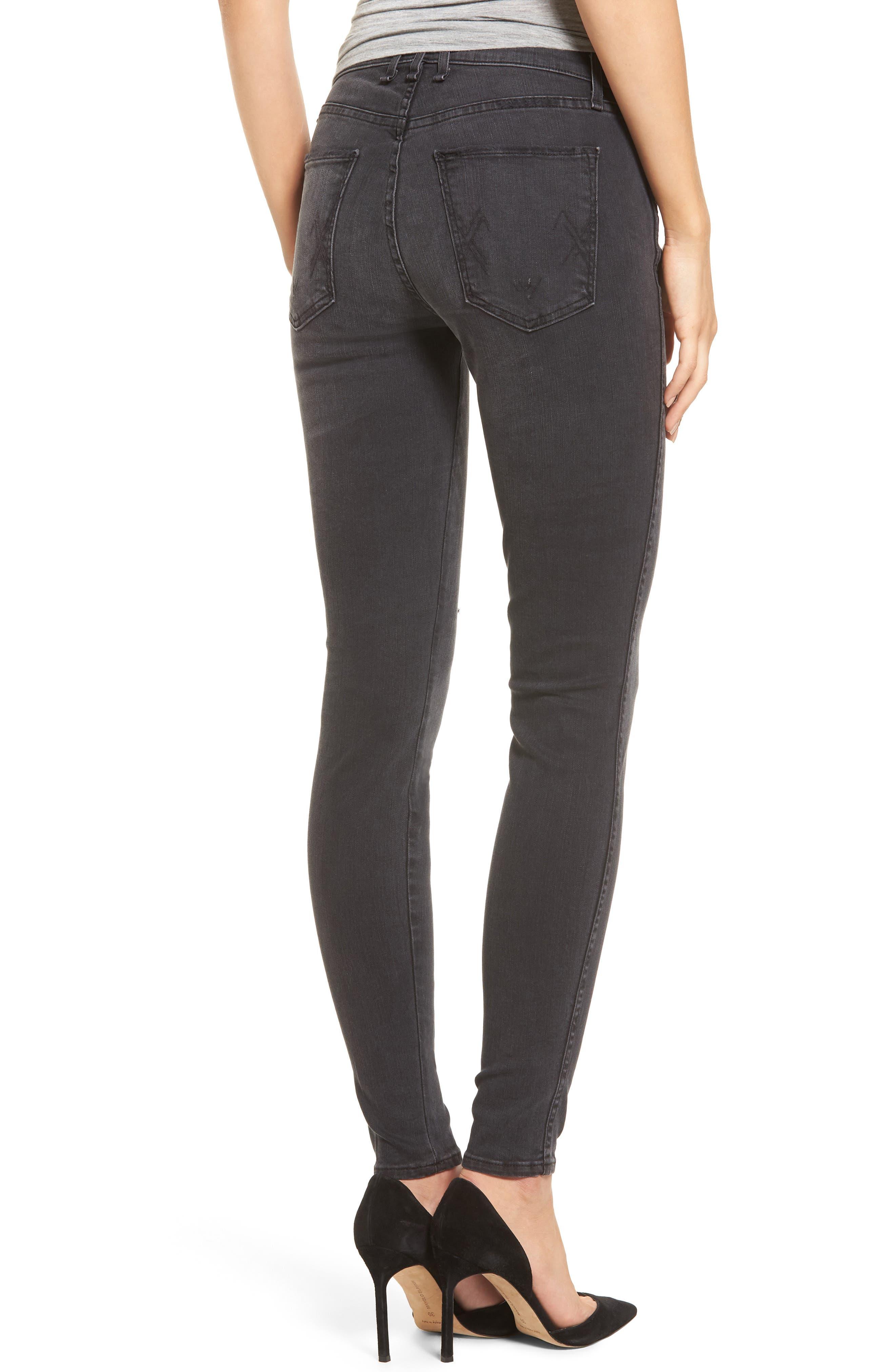 Newton Skinny Jeans,                             Alternate thumbnail 2, color,                             011