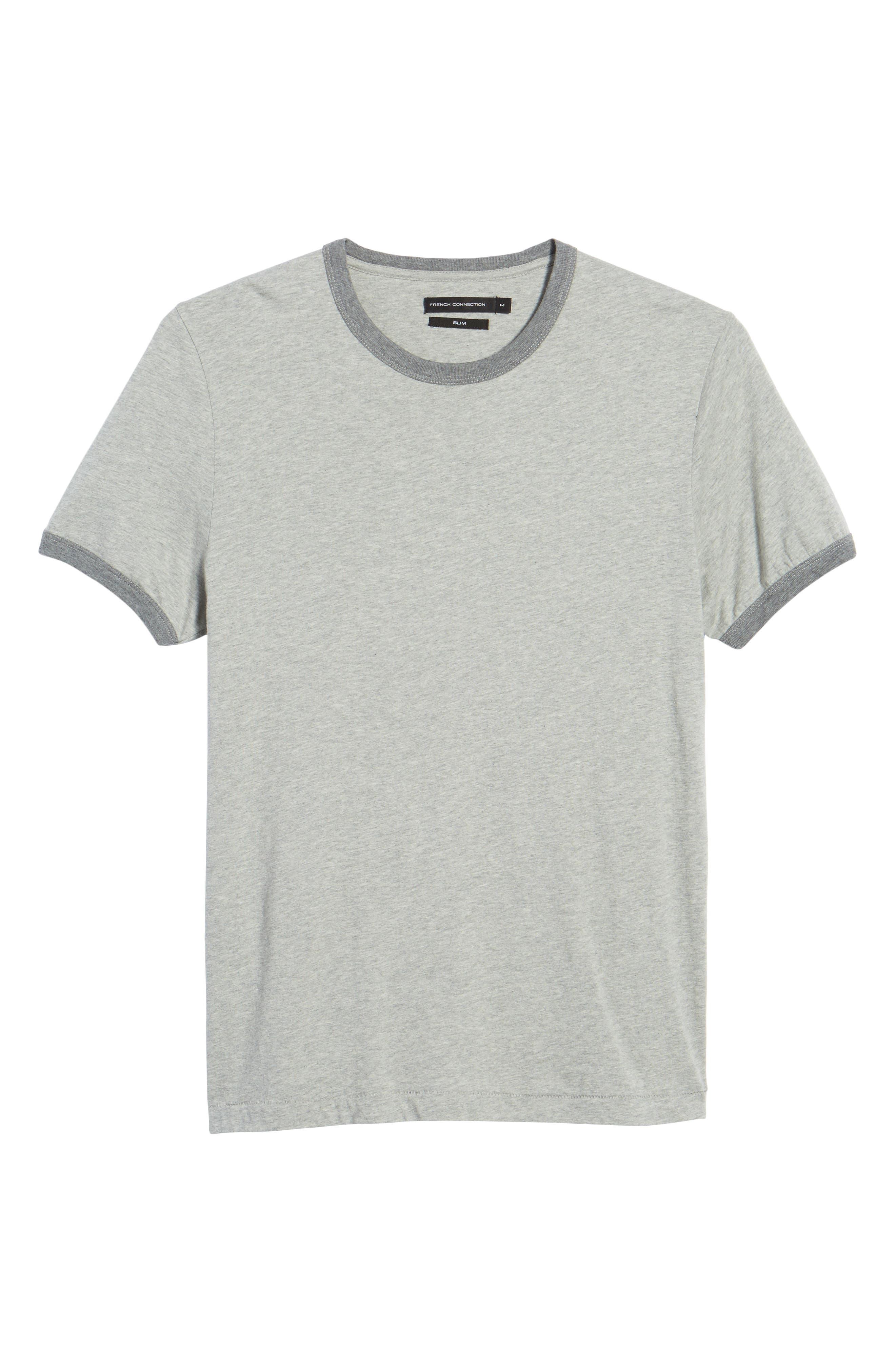 Bens Slim Fit Ringer T-Shirt,                             Alternate thumbnail 6, color,                             032