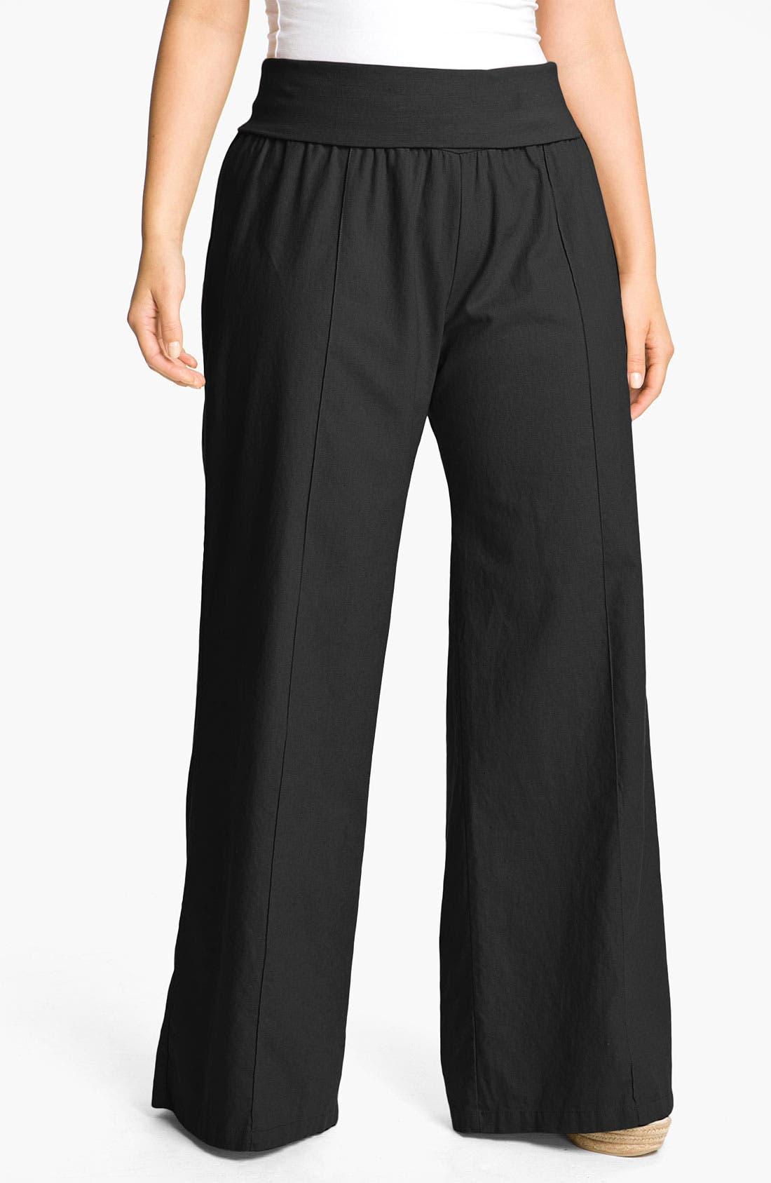 Wide Leg Pants, Main, color, 001