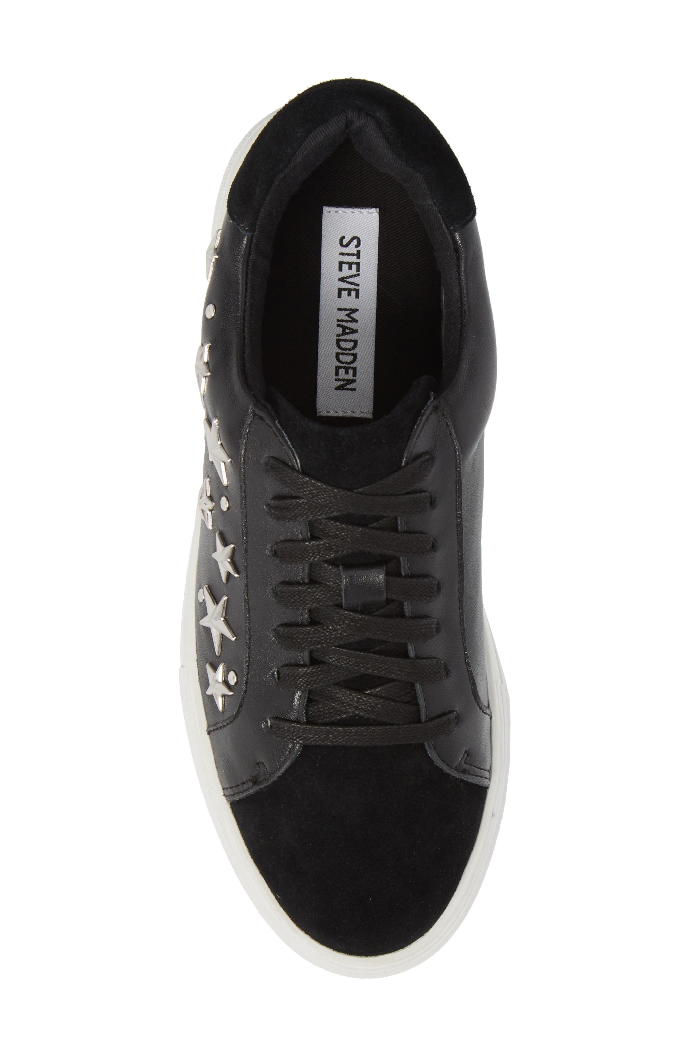 Active Star Platform Sneaker,                             Alternate thumbnail 5, color,                             001