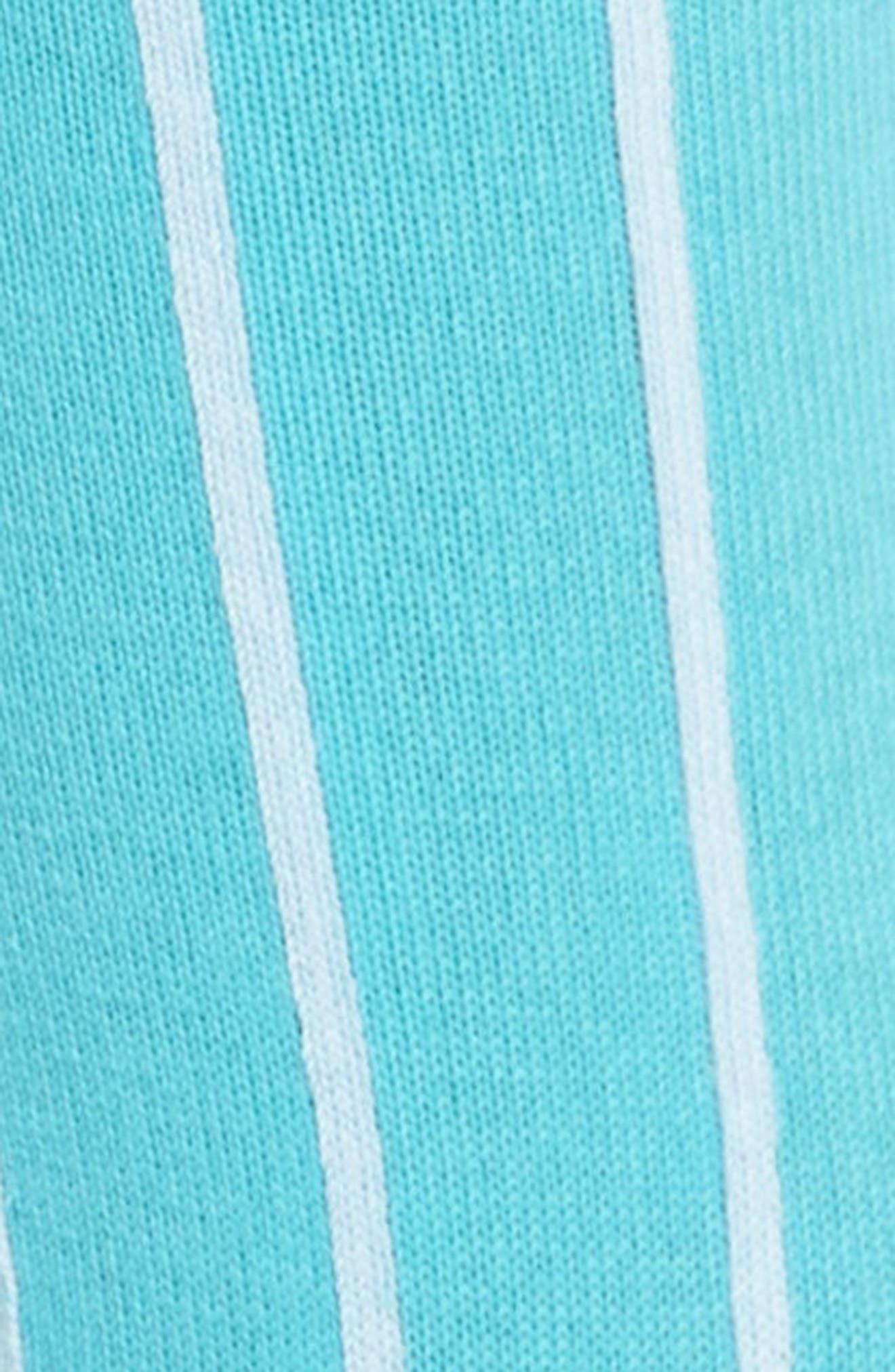 Edna Pinstripe Crew Socks,                             Alternate thumbnail 2, color,                             440