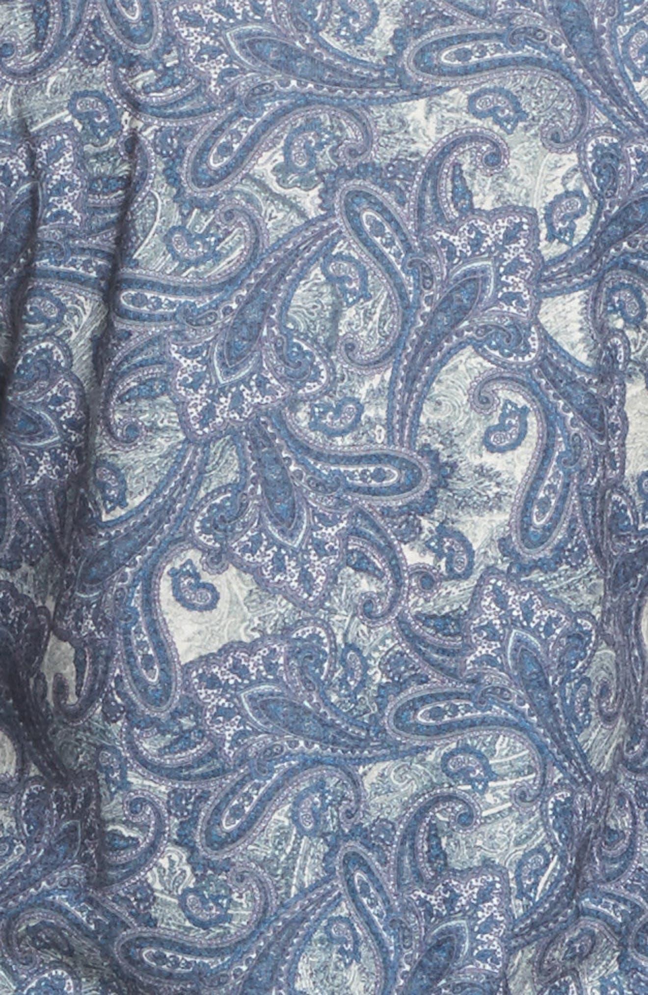 Clara Flannel Pajamas,                             Alternate thumbnail 5, color,                             400